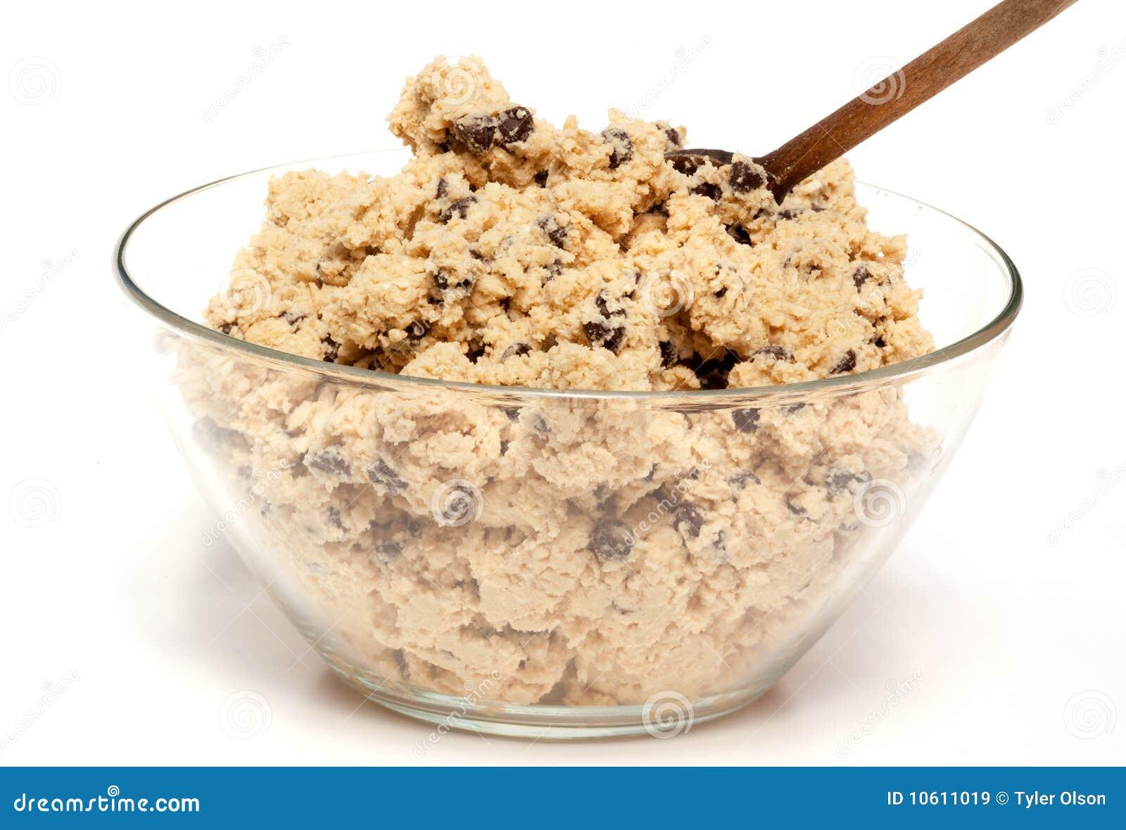 De Kom van het Deeg van het koekje