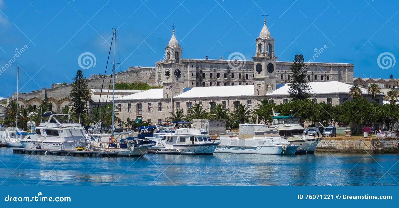 De Koninklijke Zeewerf van de Bermudas