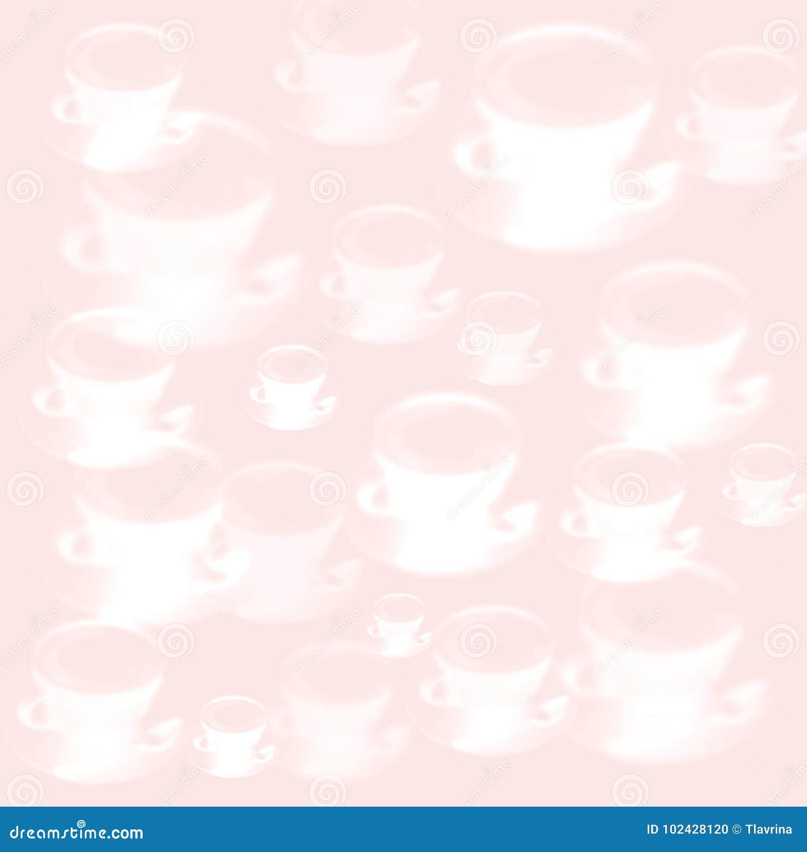 De kop dichte omhoog roze purpere textuur van koffielatte Capuchino