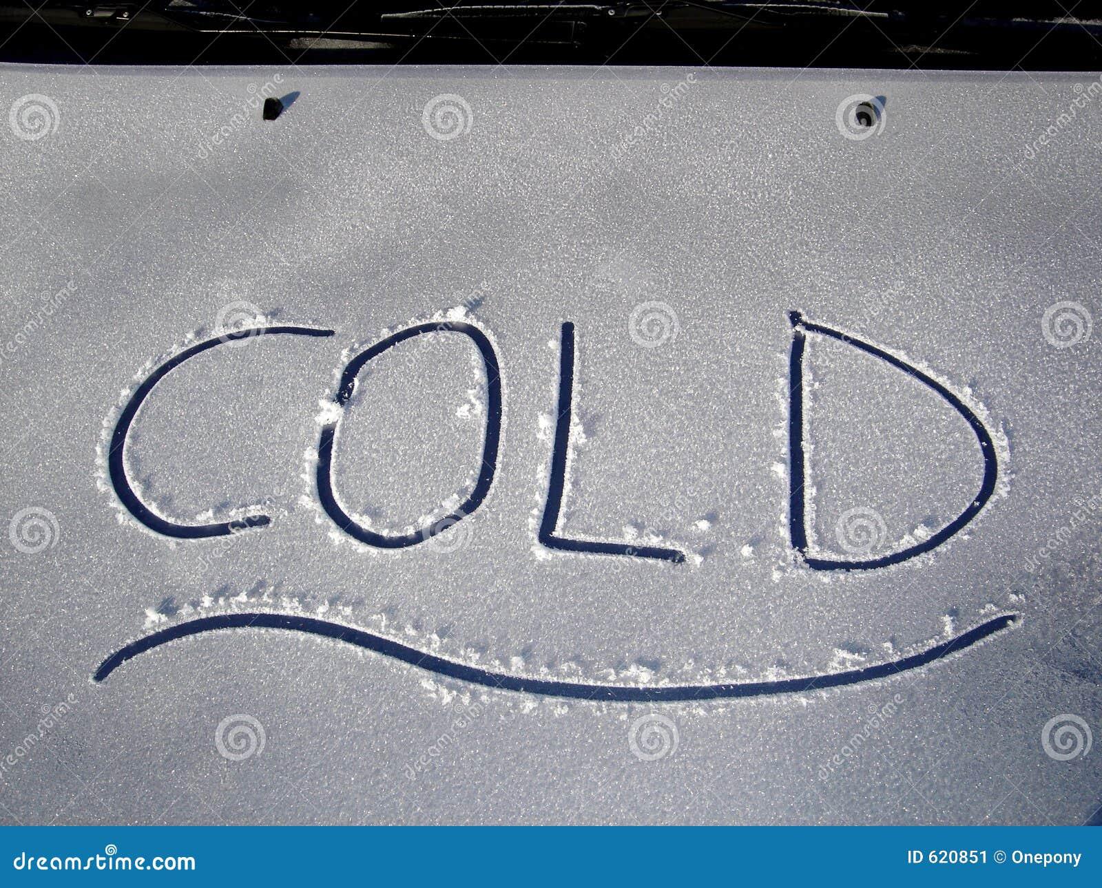 De koude Kap van de Auto