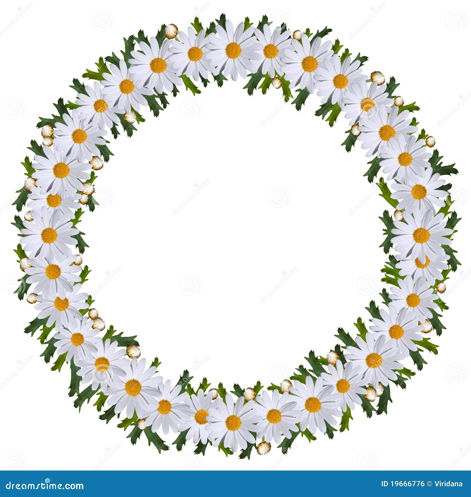De kroon van de midzomer van bloemen