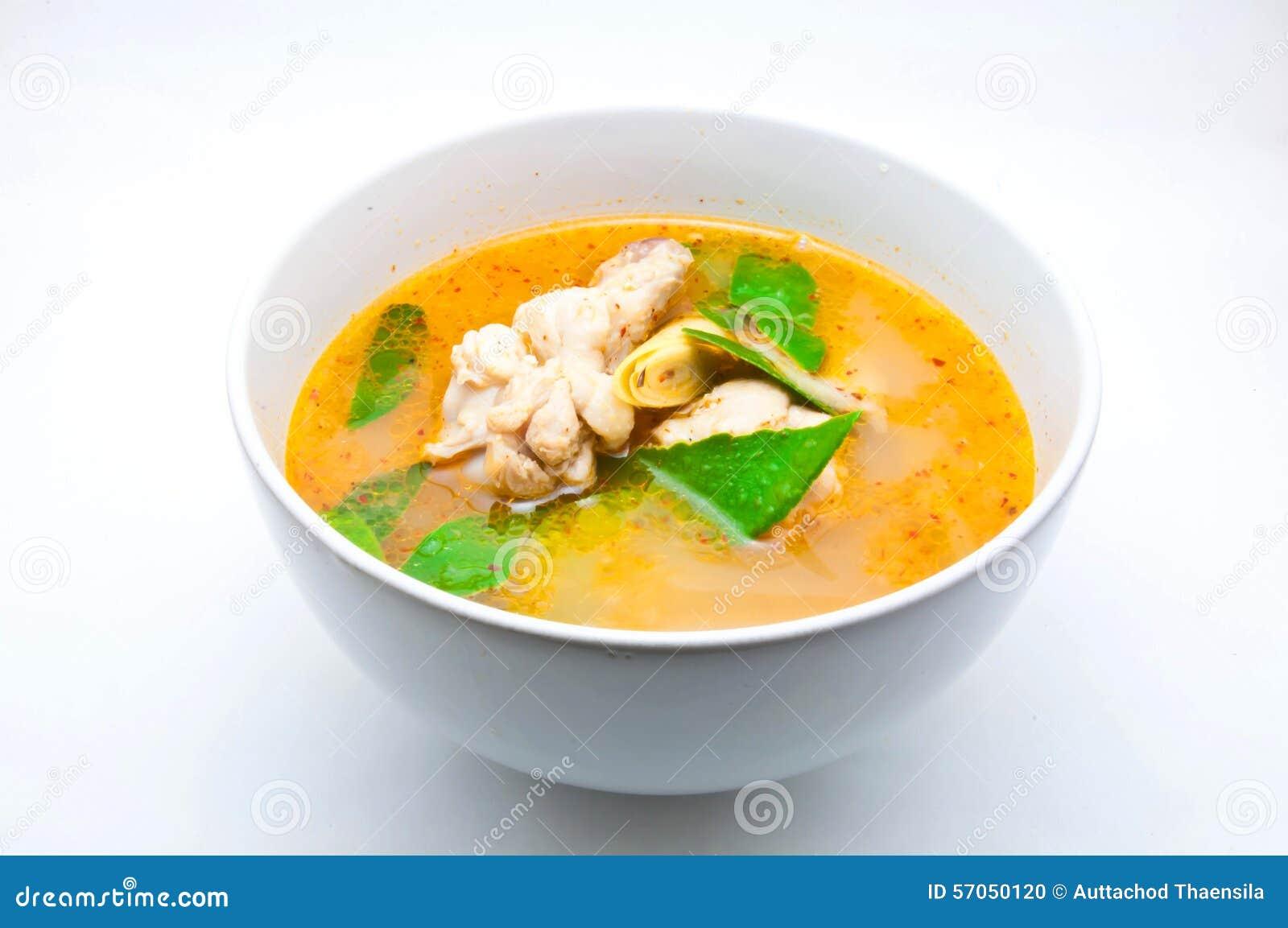 De kruidige Soep van de Kip
