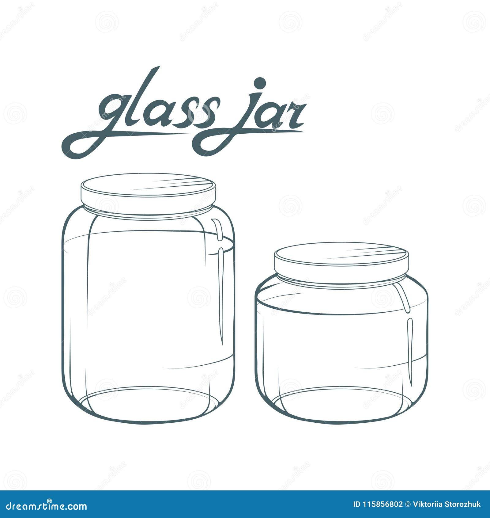 De kruik van het glas Getrokken kruikhand Het van letters voorzien van glaskruik