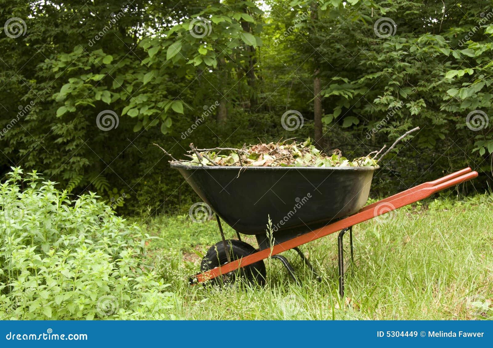 De Kruiwagen van de tuin