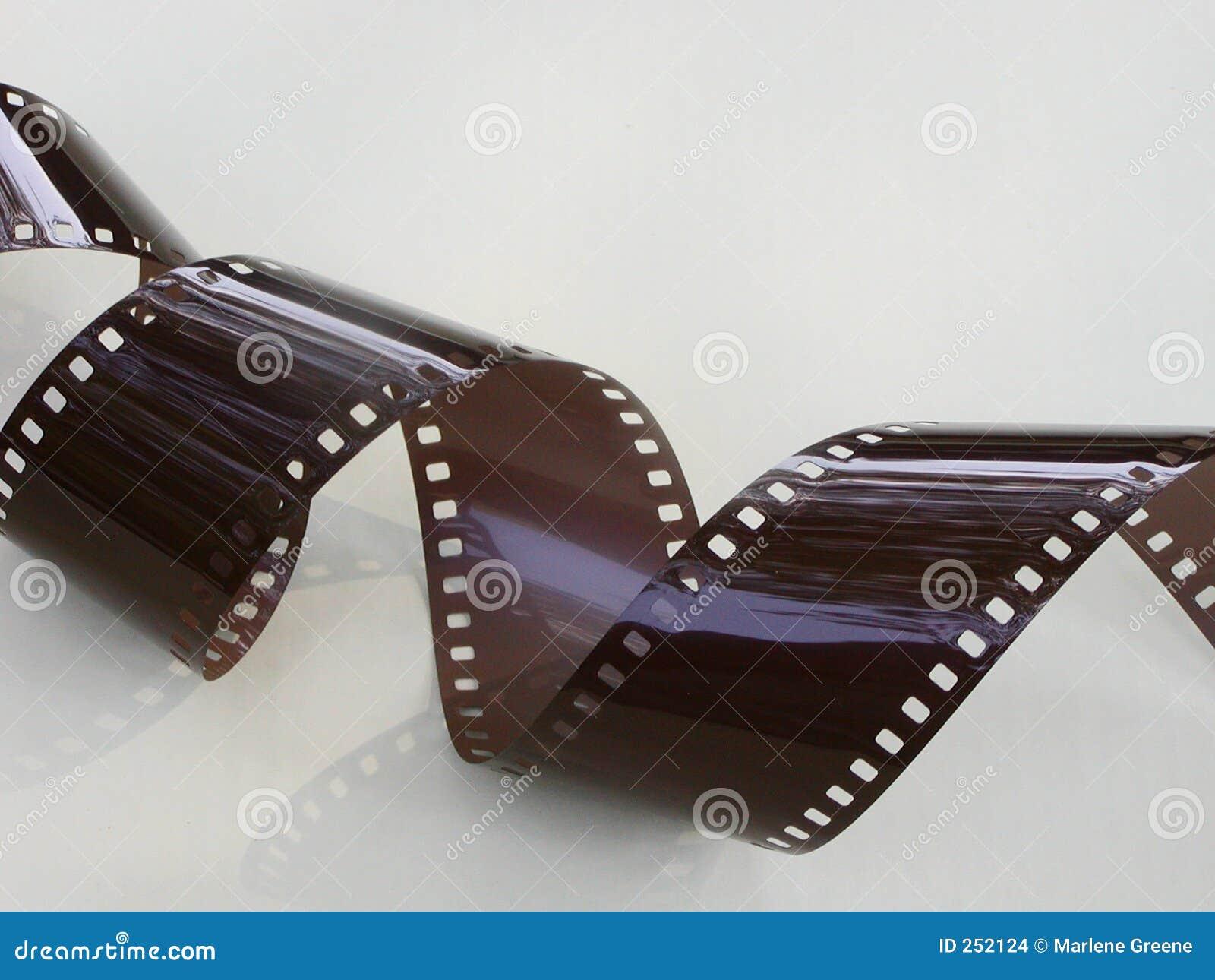 De krullende Strook van de Film