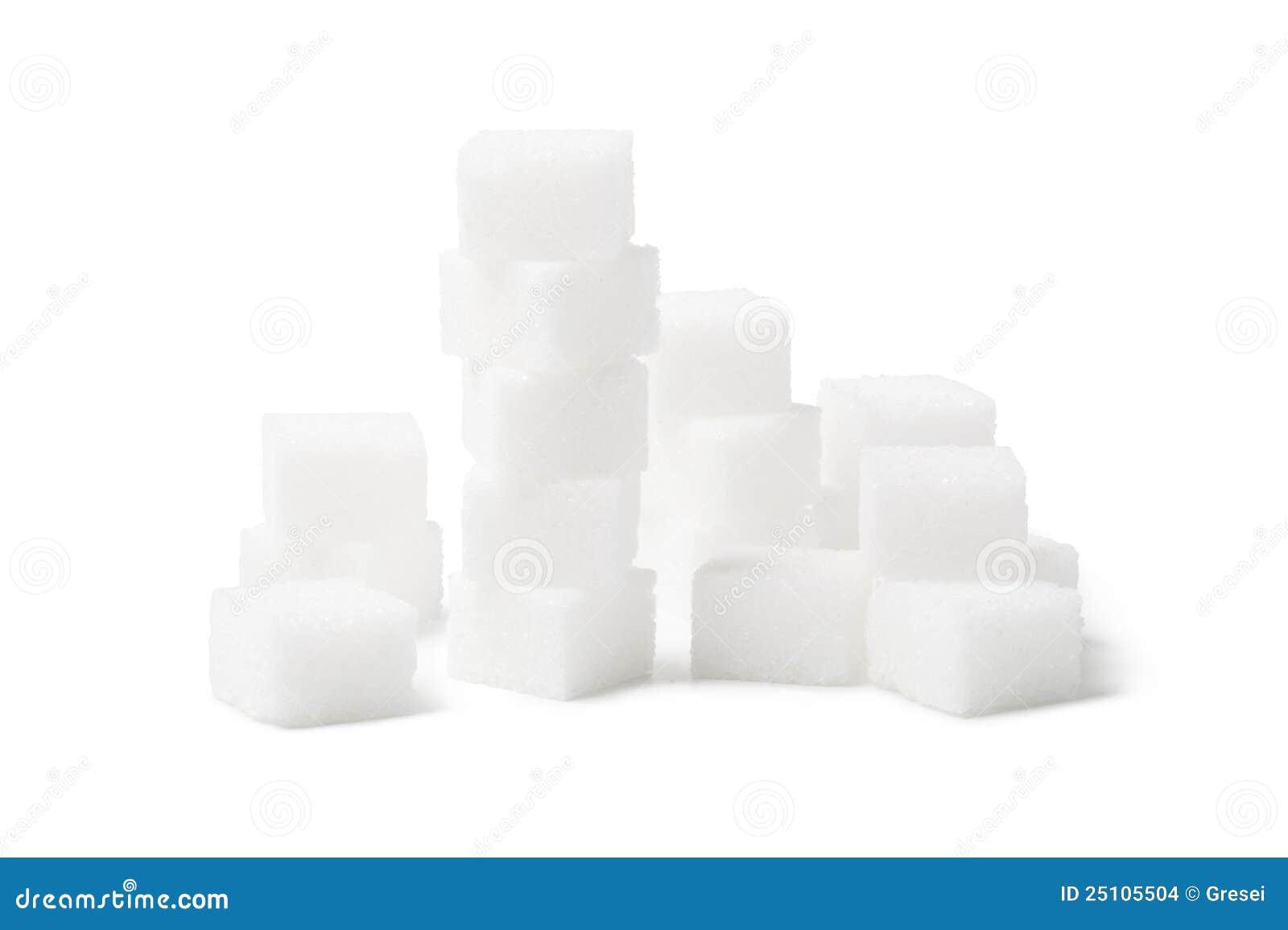 De kubus van de suiker