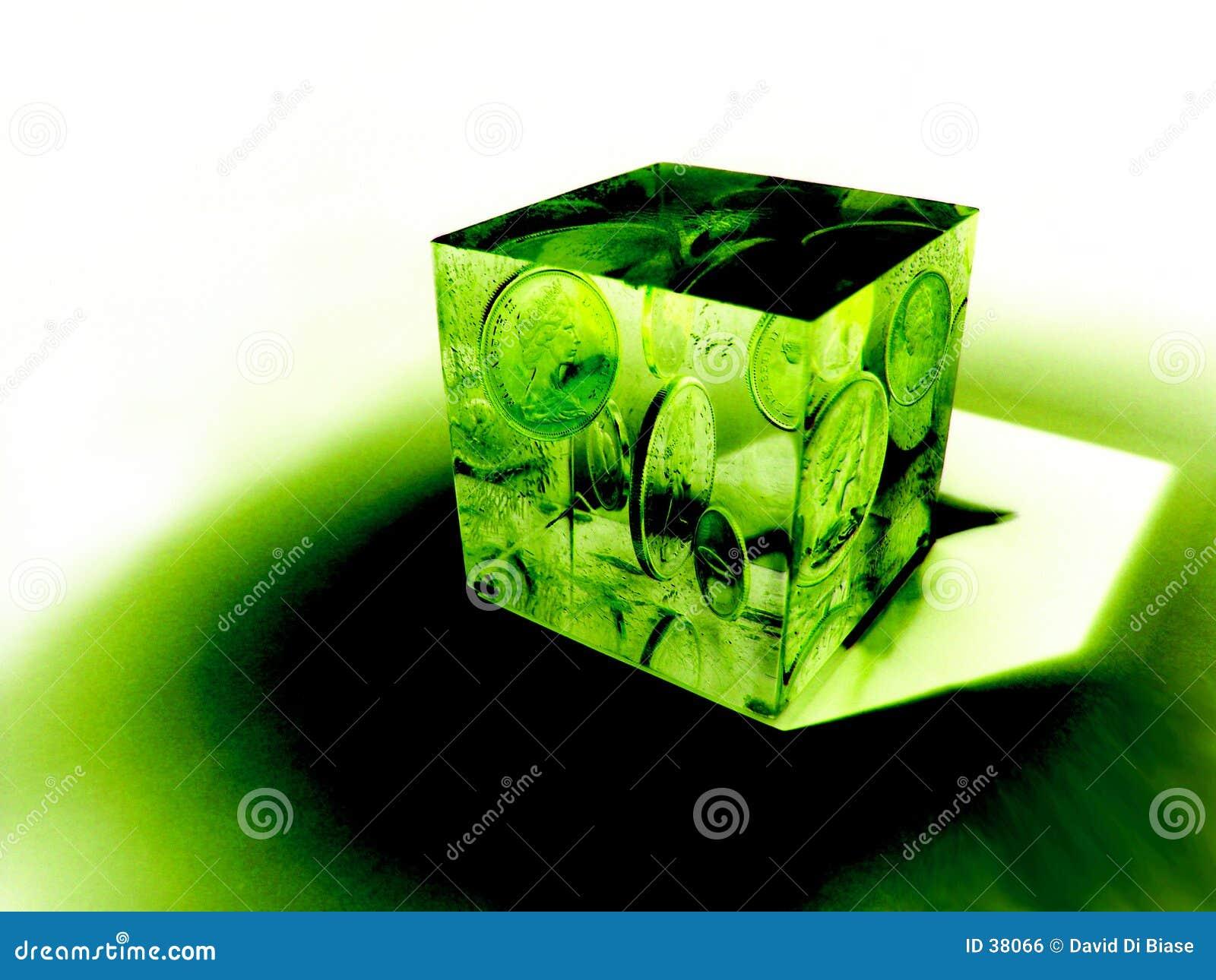 De kubus van het Geld