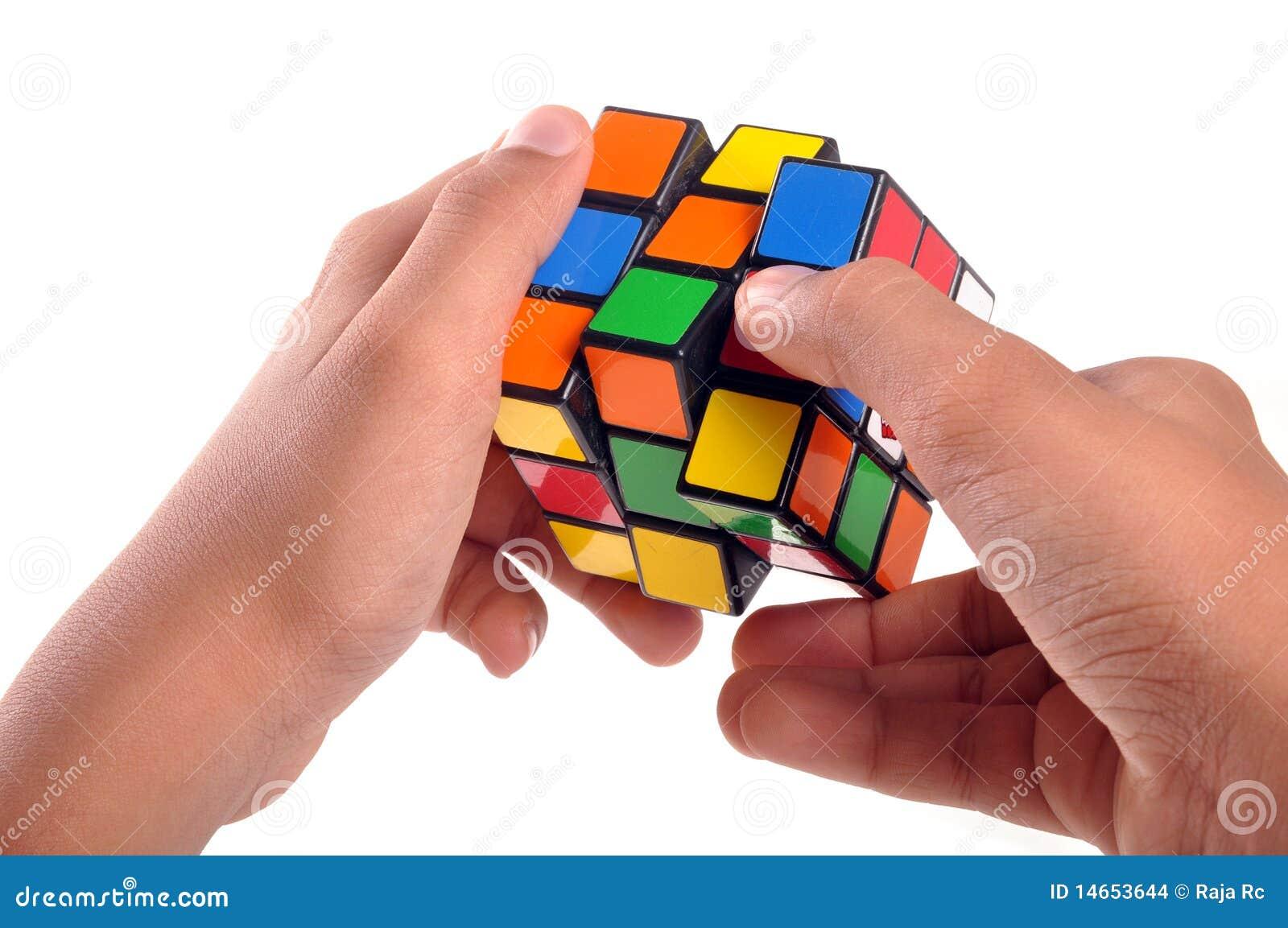 De kubus van Rubiks
