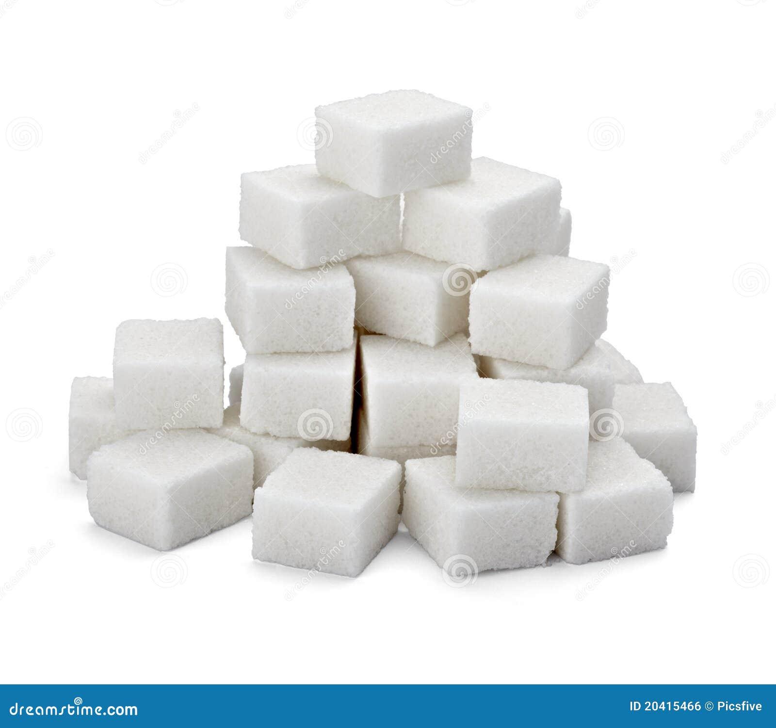 De kubussen van de suiker
