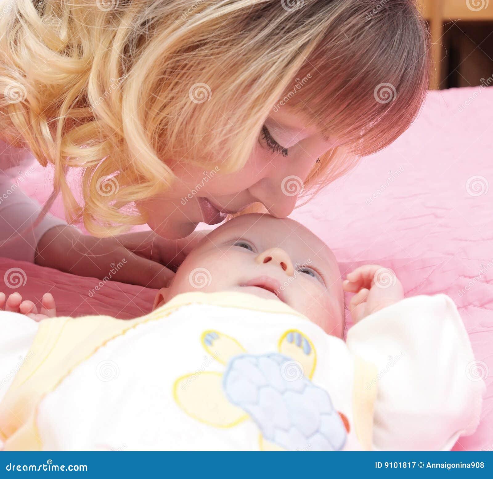 De kussenbaby van Mum