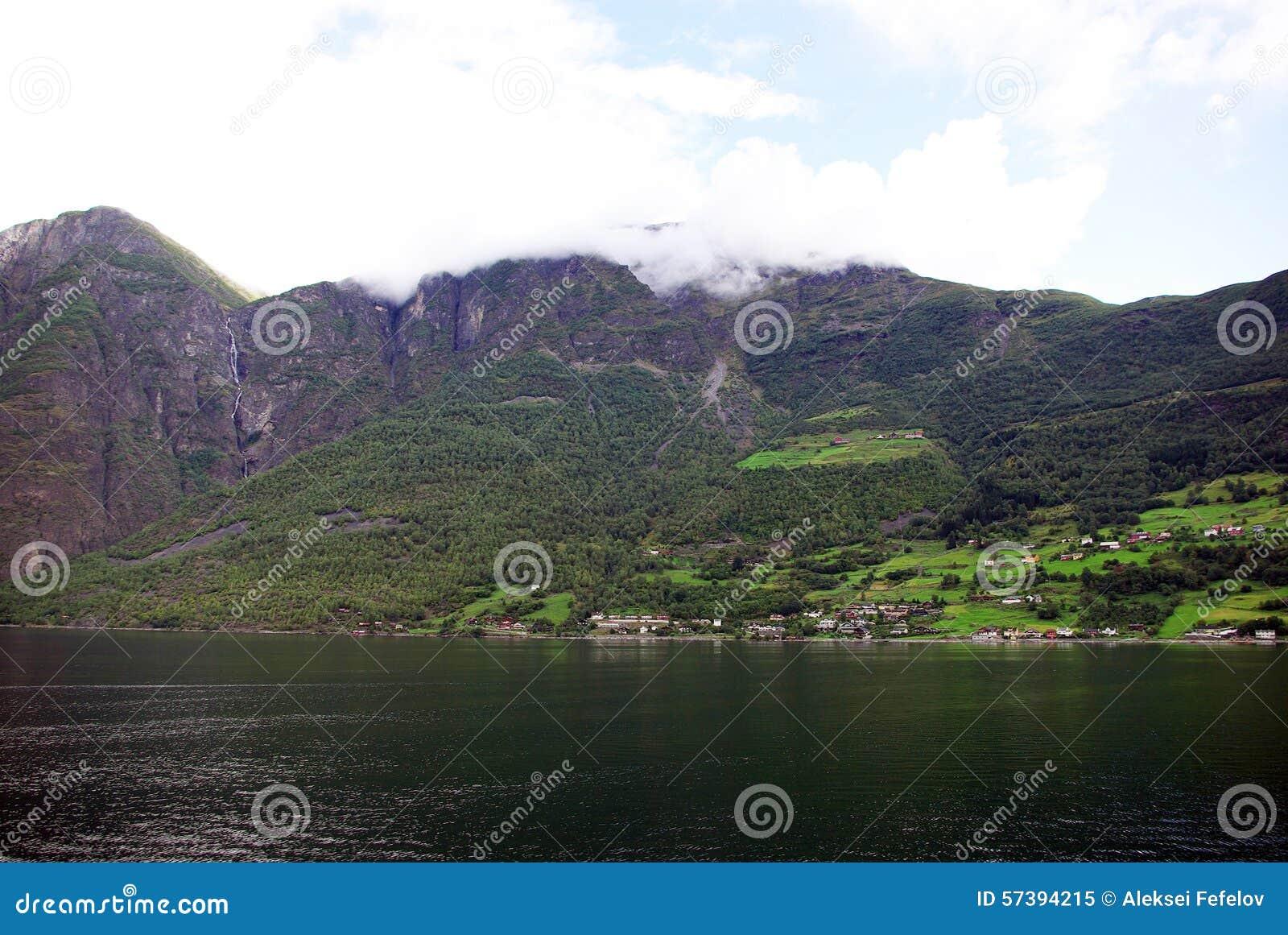 De kust van Noorwegen