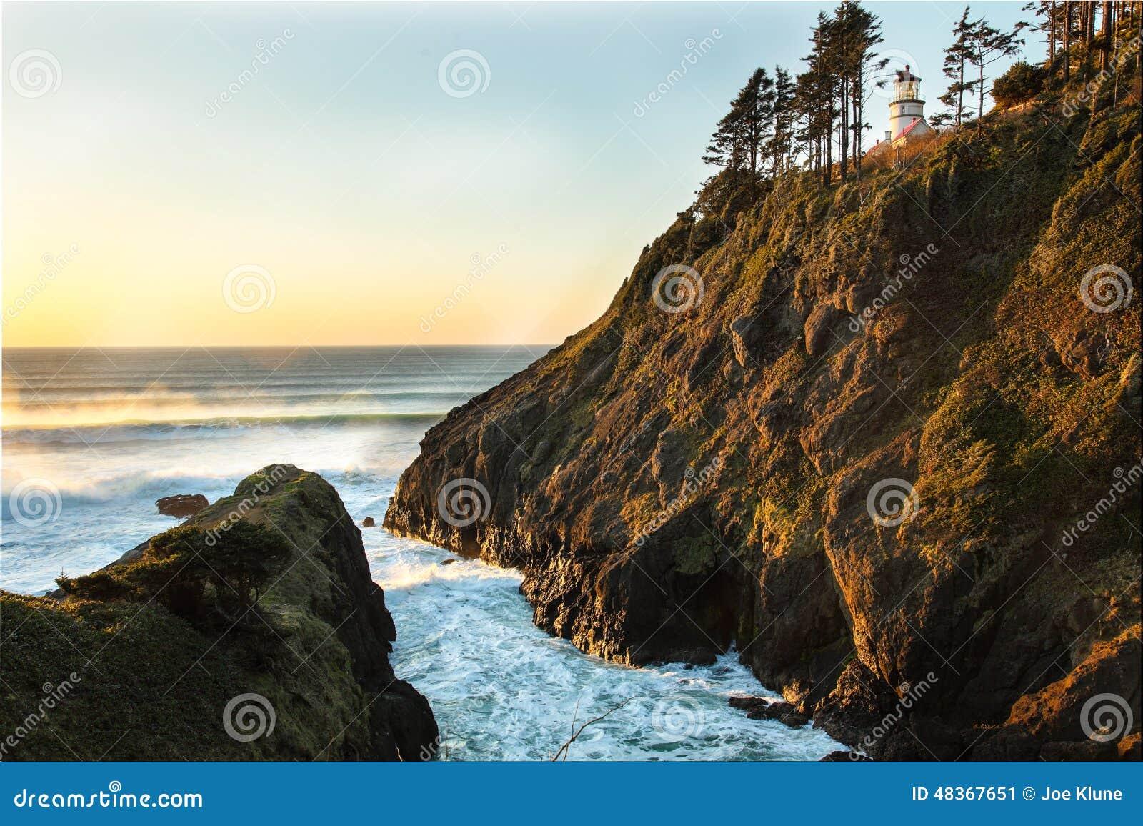 De kustportretten van Oregon