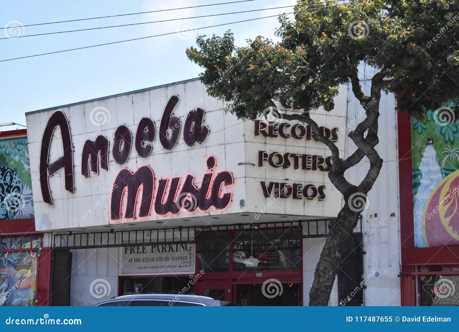 De l allée de cuvette de parc à Amoeba Music, 1
