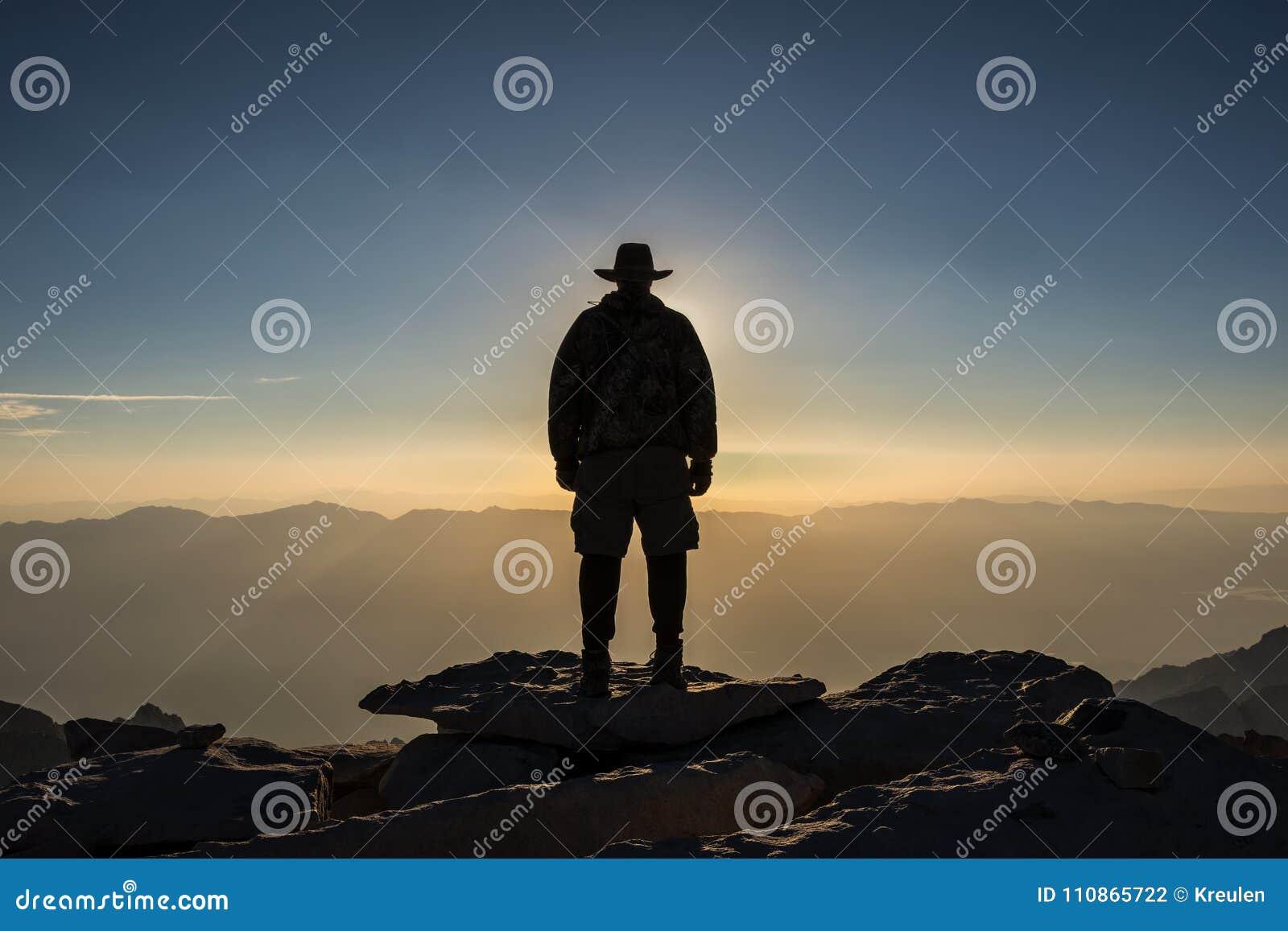 De-La Sierra Nevada, Gipfel EL Jefe von Mt Whitney