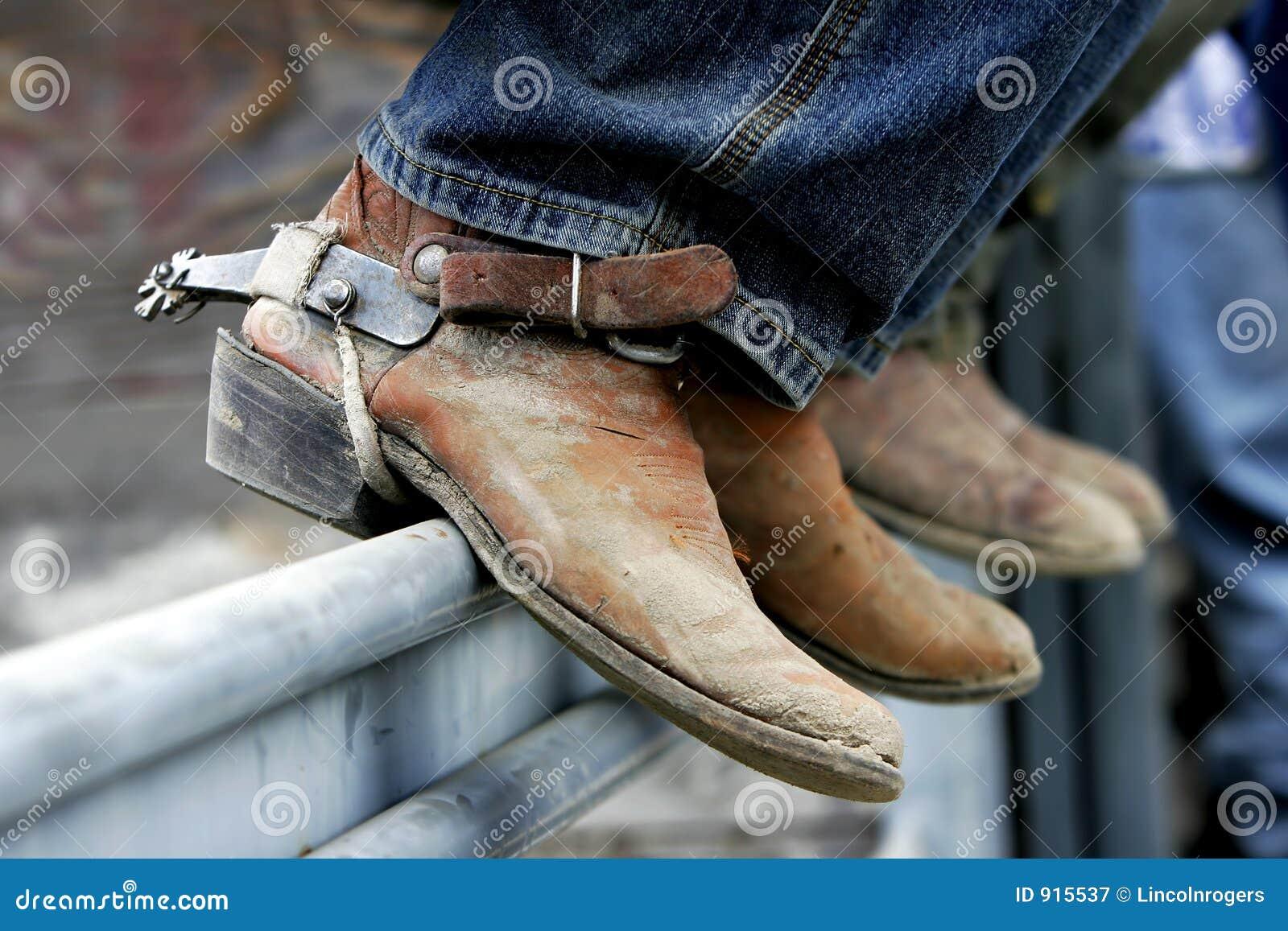 De Laarzen & de Aansporingen van de rodeo