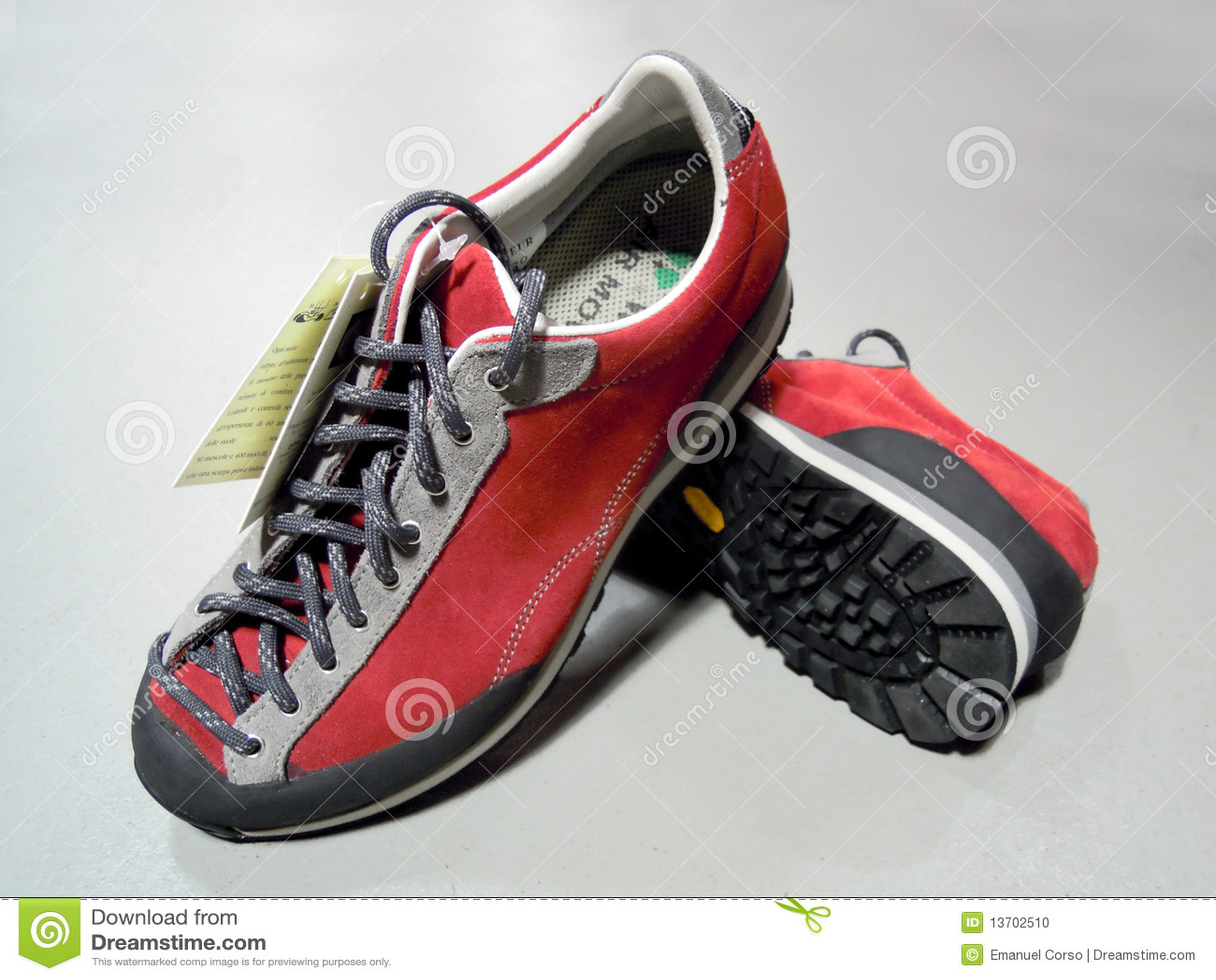 De laarzen van de wandeling