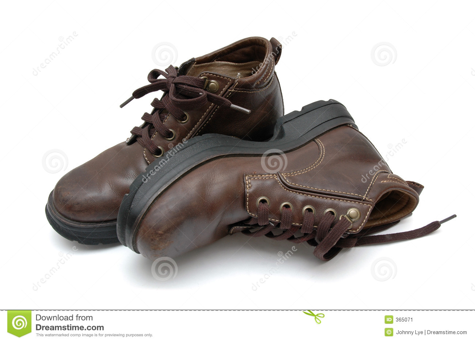 De Laarzen van het leer