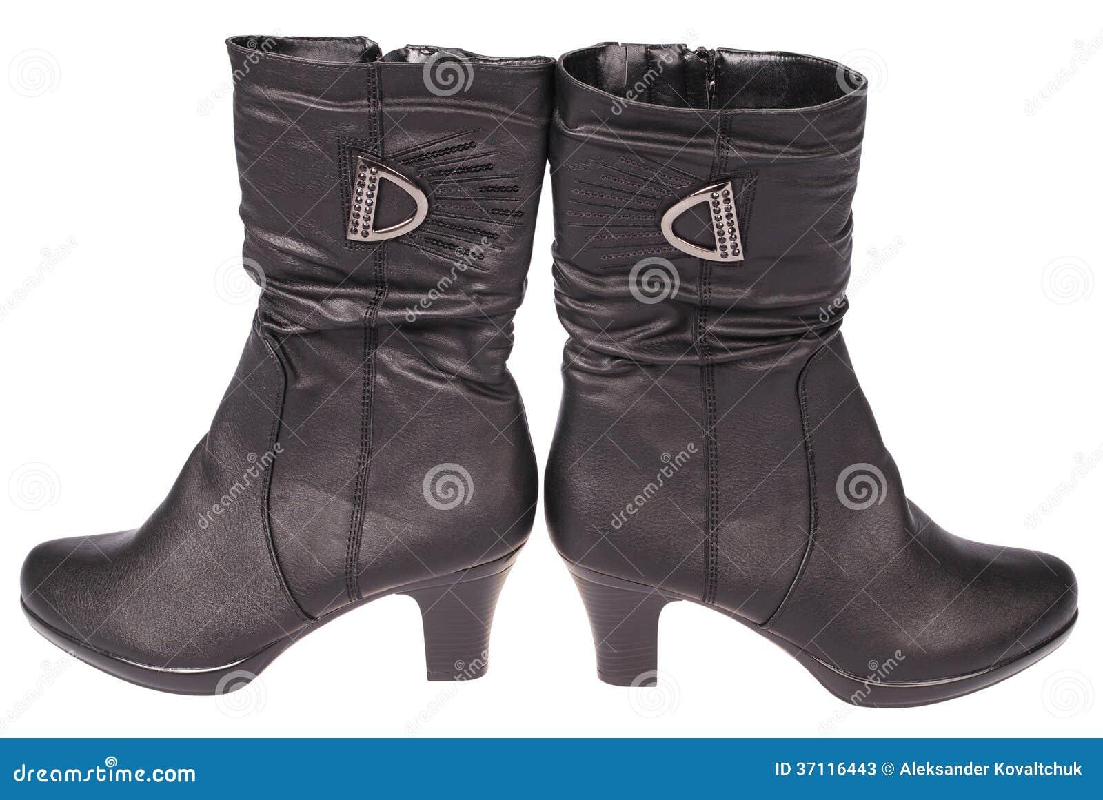 De laarzen van vrouwen (het Knippen weg)
