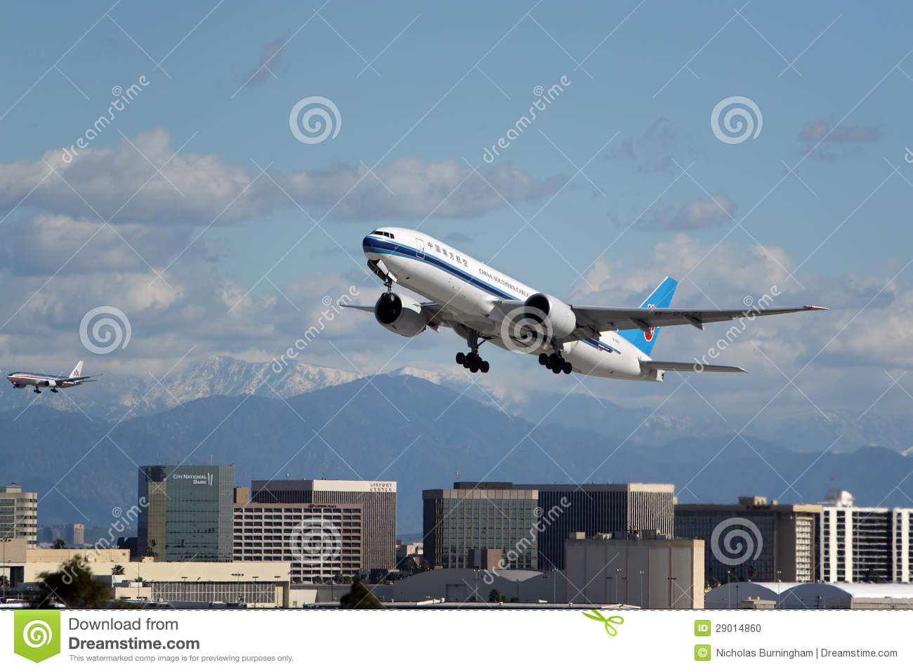 De Lading Boeing 777-F1B van China Southern Airlines