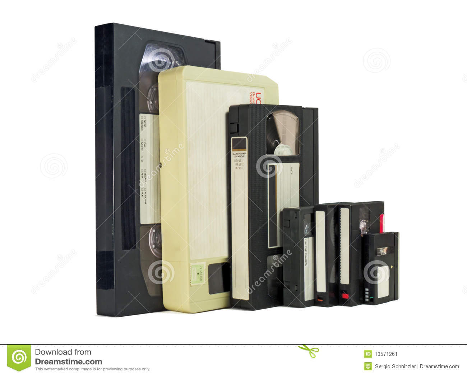 De lado a lado videocassettes
