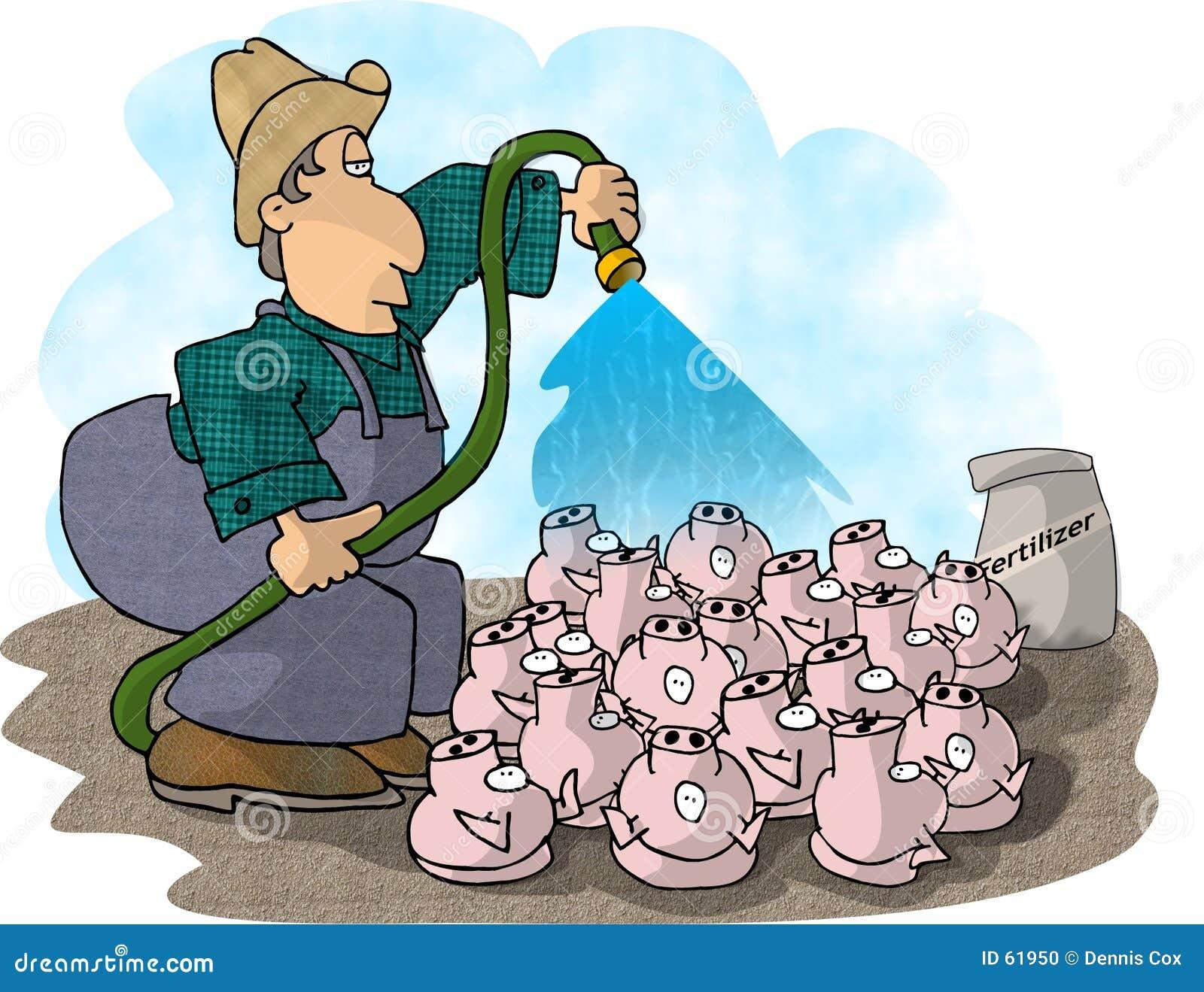 De Landbouwer van het varken