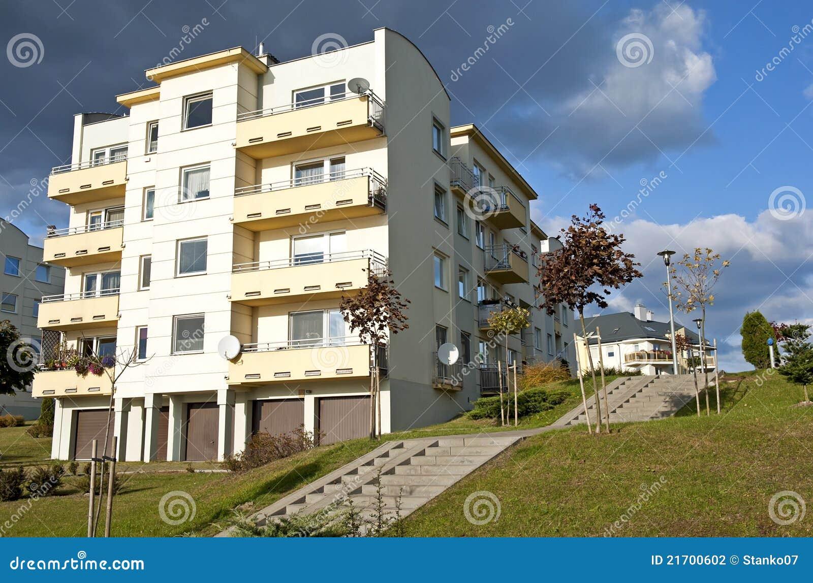De landgoederen van de huisvesting