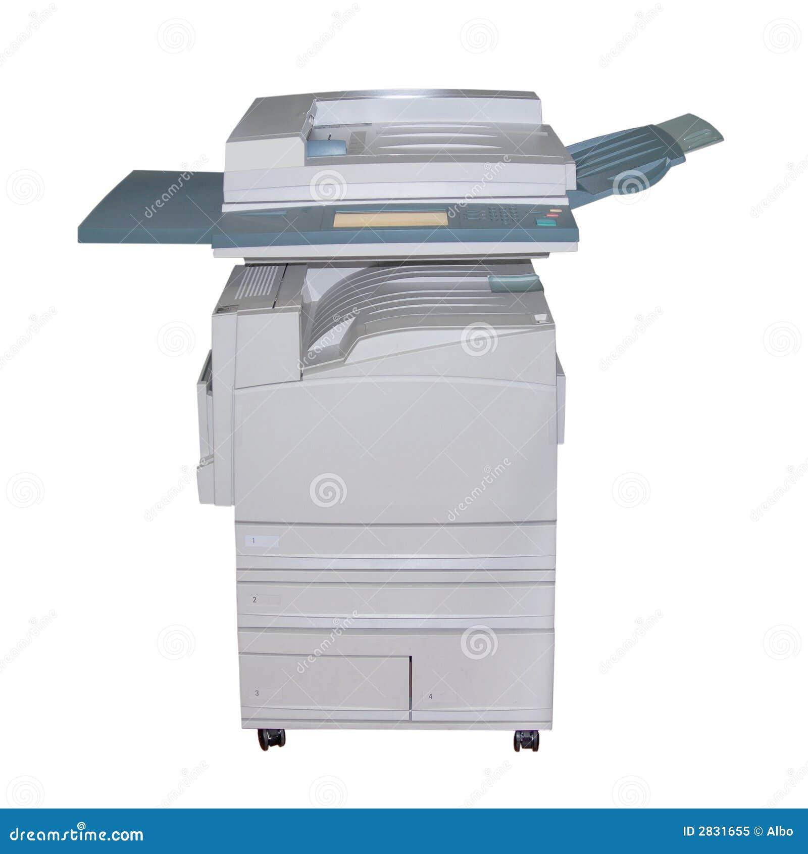 De laserkopieerapparaat van de kleur