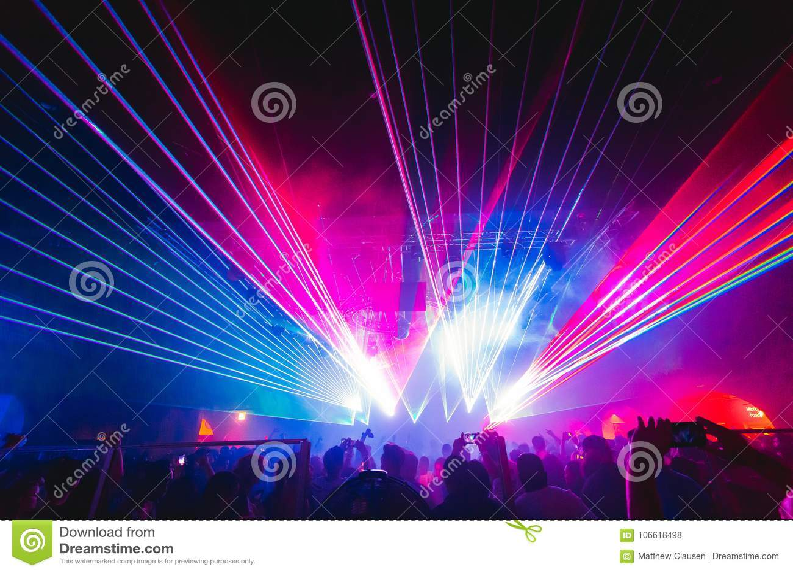 De lasers bij ijlen, partij, club