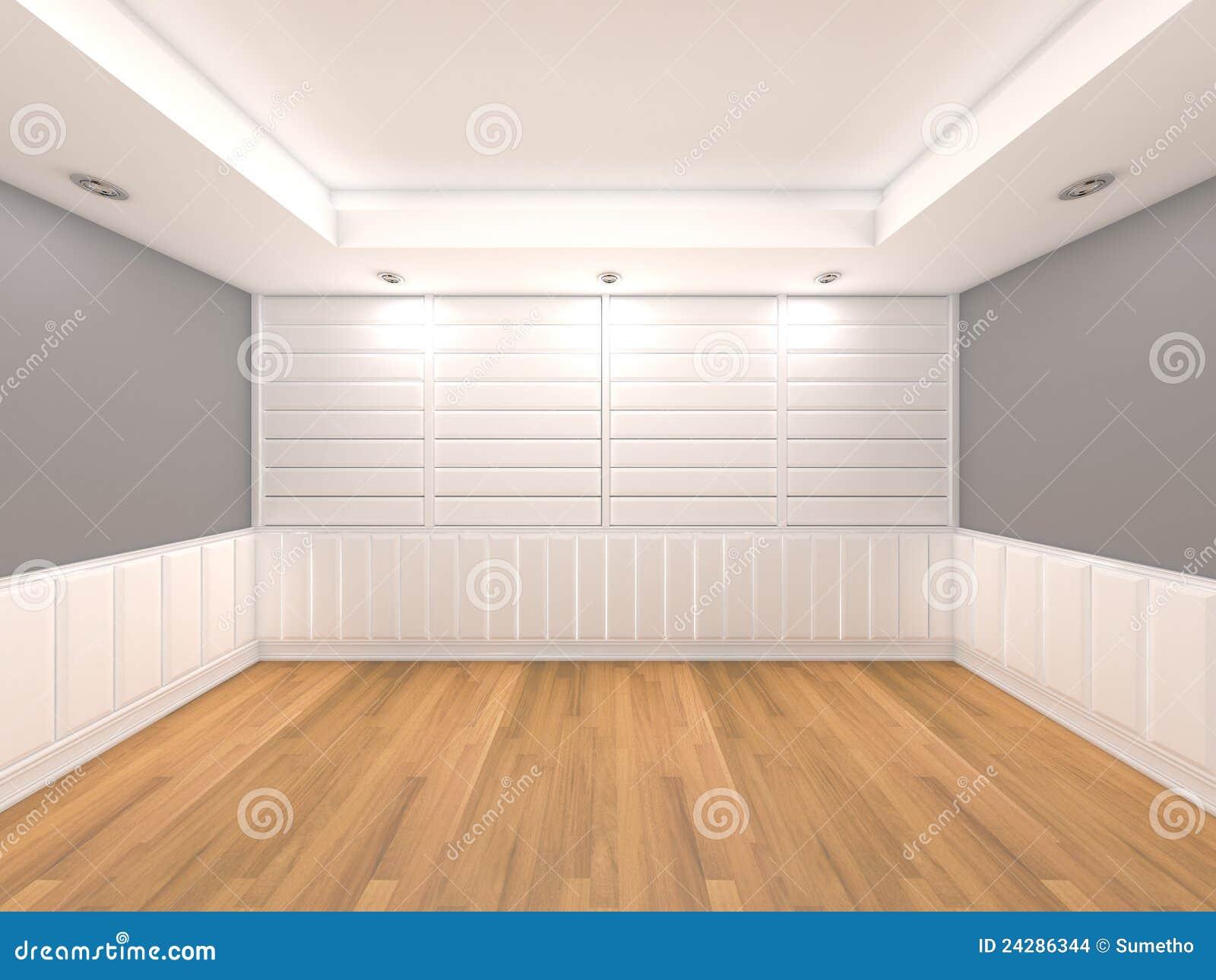 De lege muur van de ruimte grijze kleur stock illustratie for Kleur muur