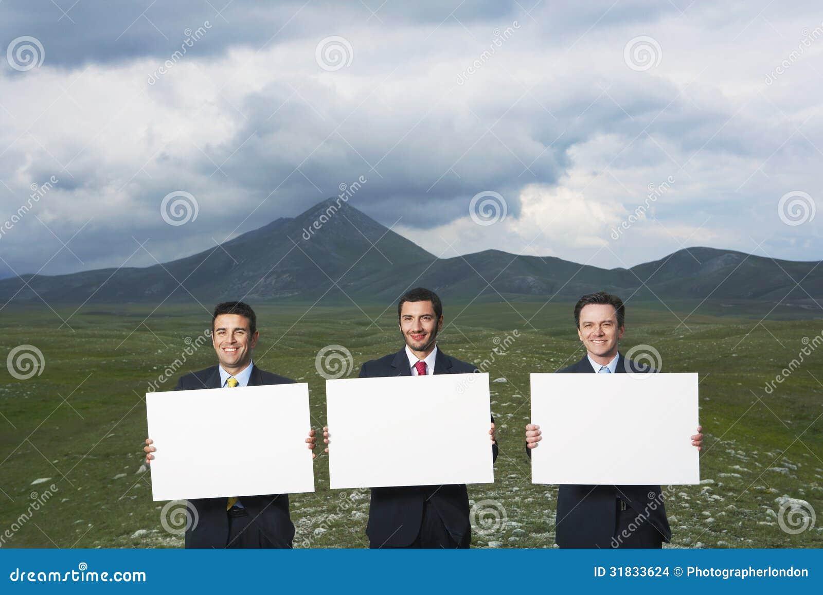 De Lege Tekens van de zakenliedenholding op Gebied