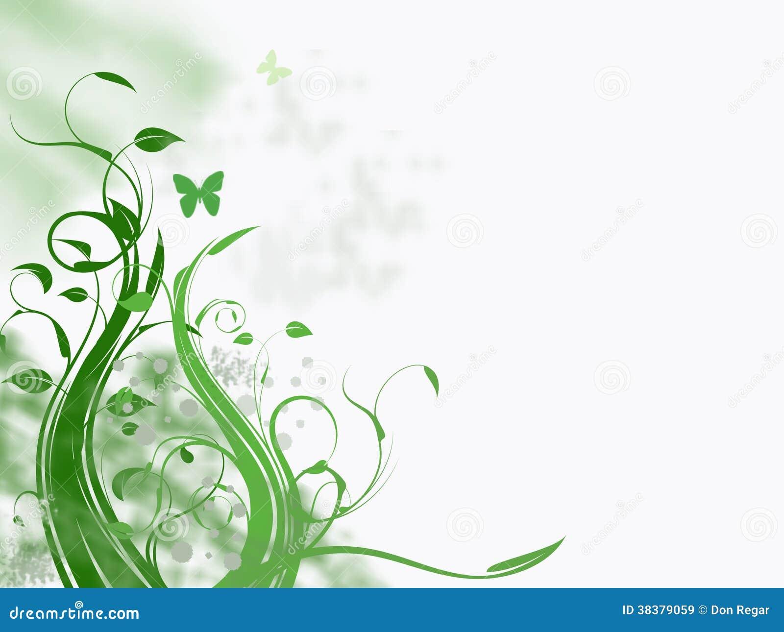 De lente in Groen