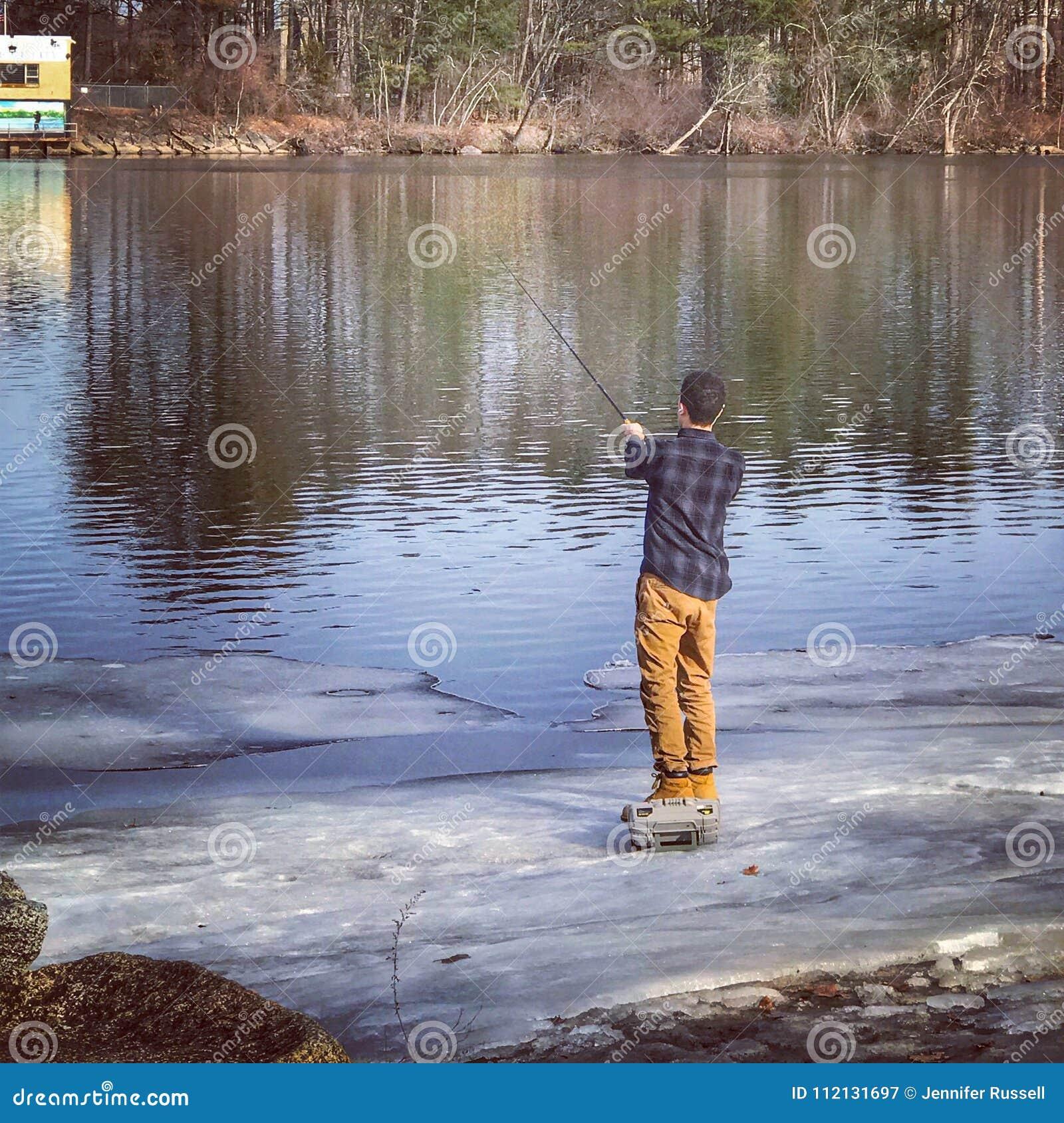 De lente visserij