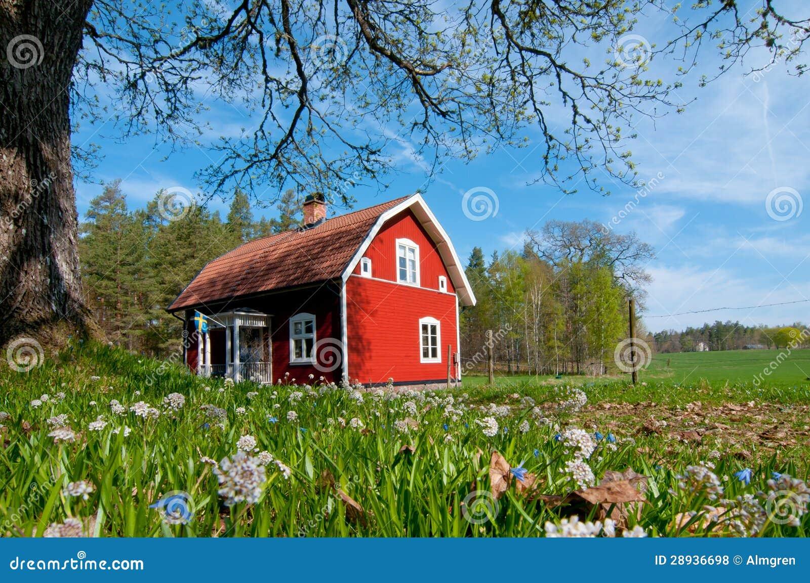 De lente in Zweden