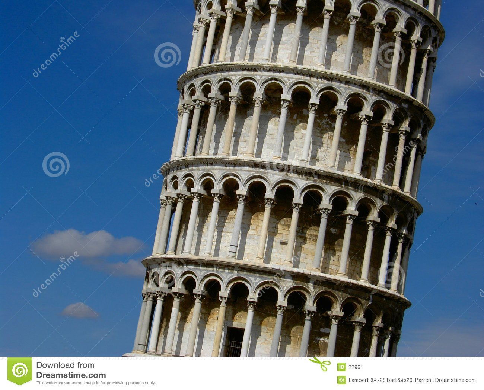 De leunende toren van Pisa