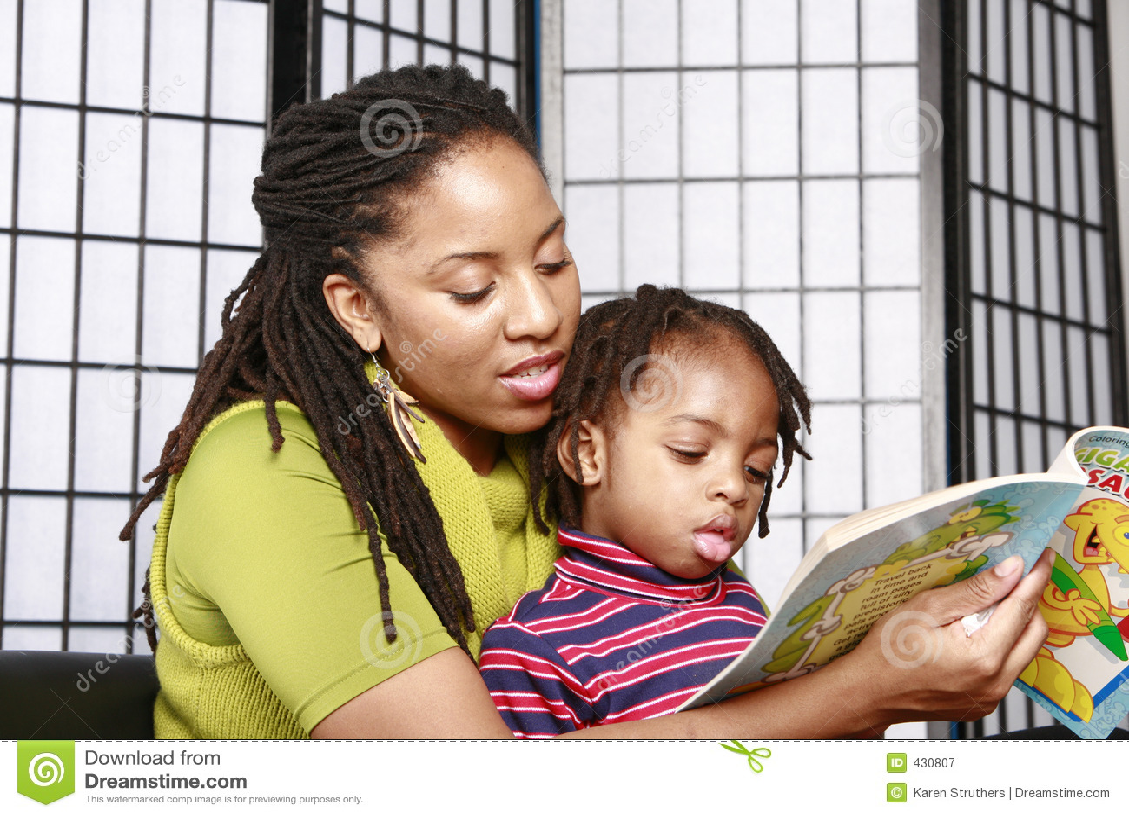 De lezing van de moeder en van de zoon samen