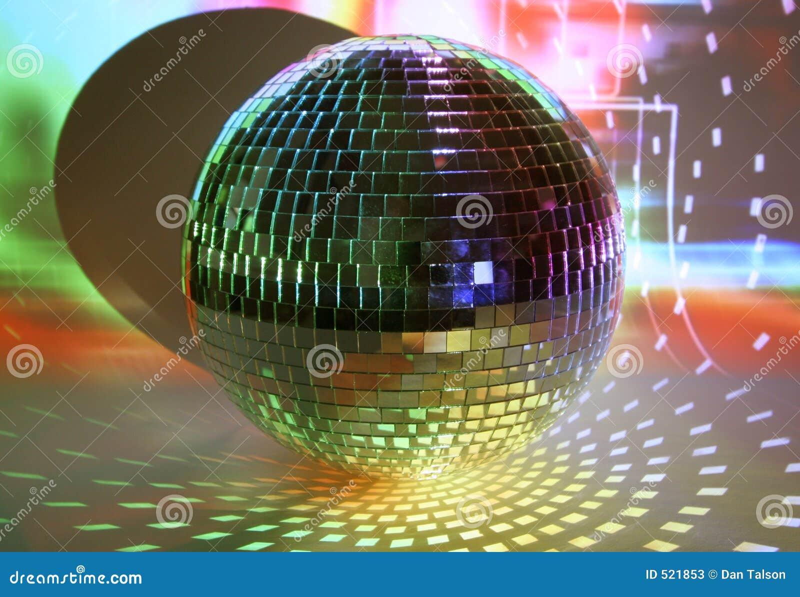 De lichten van Discoball