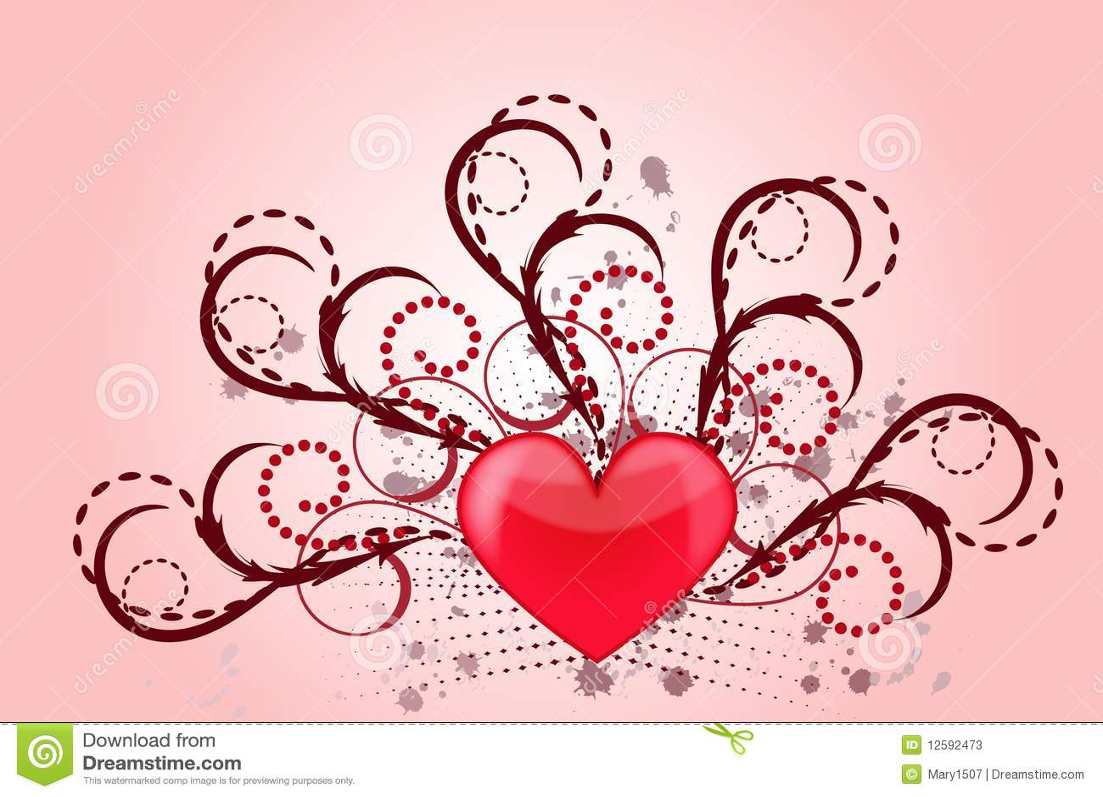 De liefde van het hart