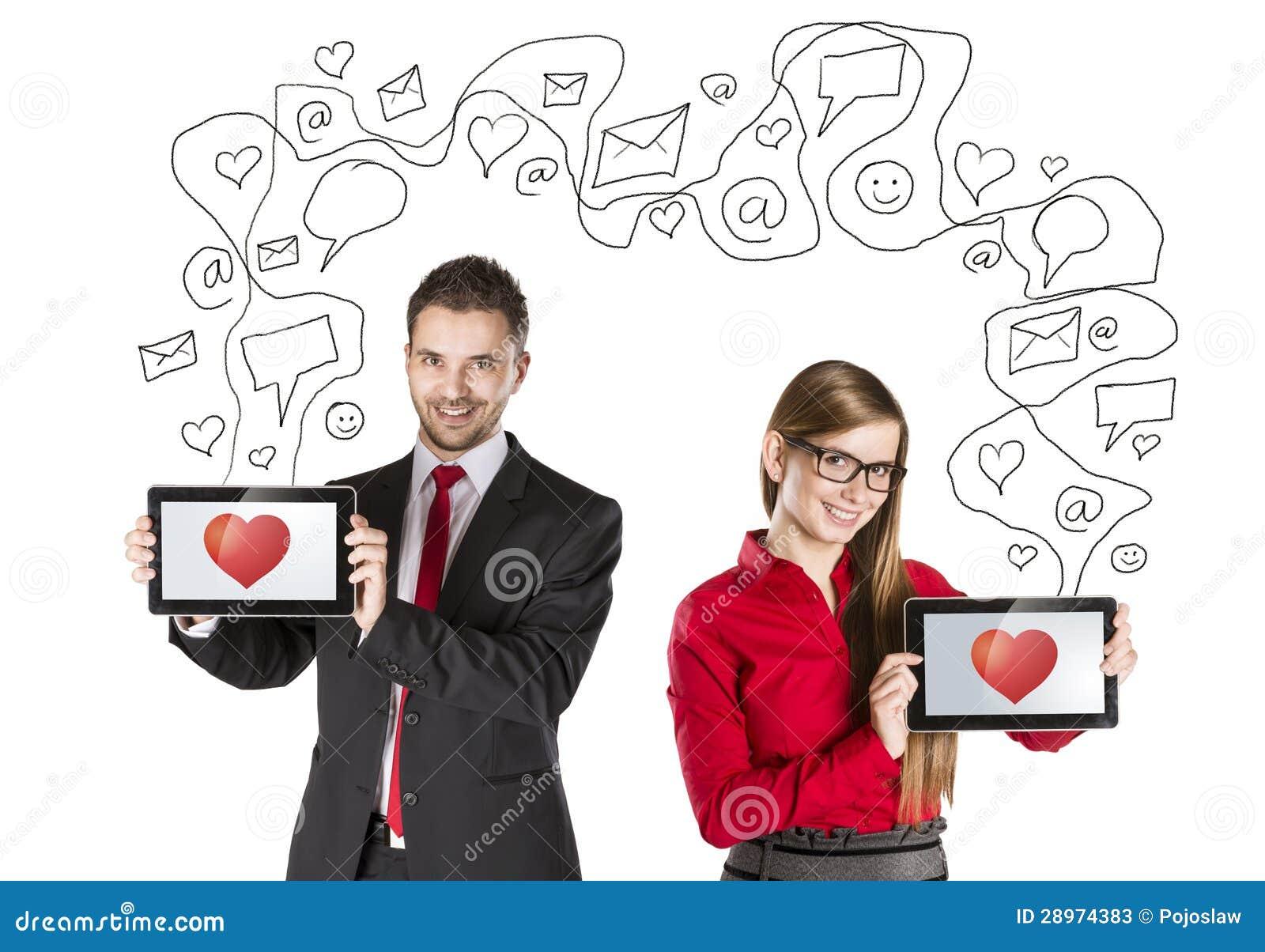 De liefde van Internet