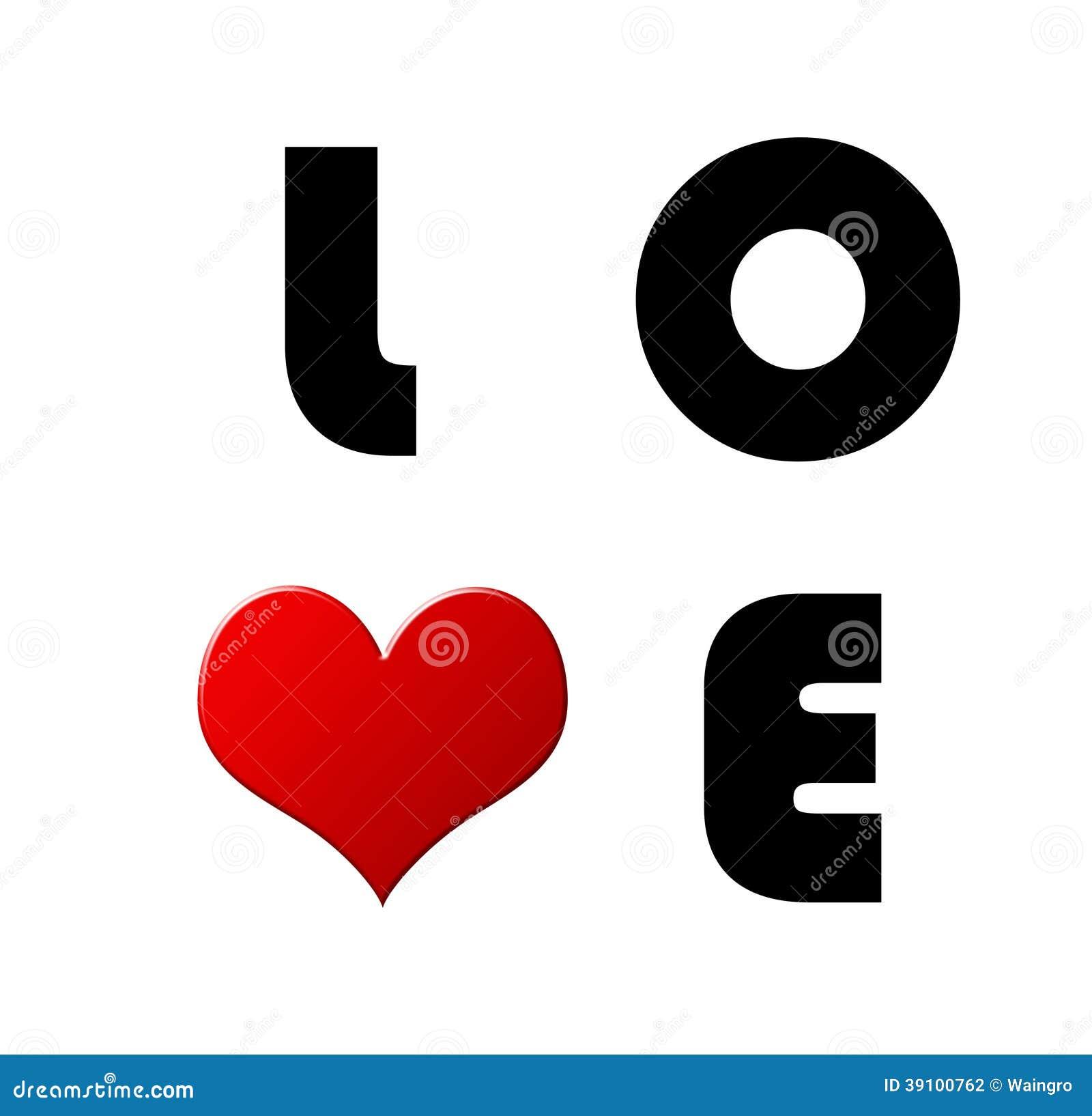 De liefdekaart van Valentine