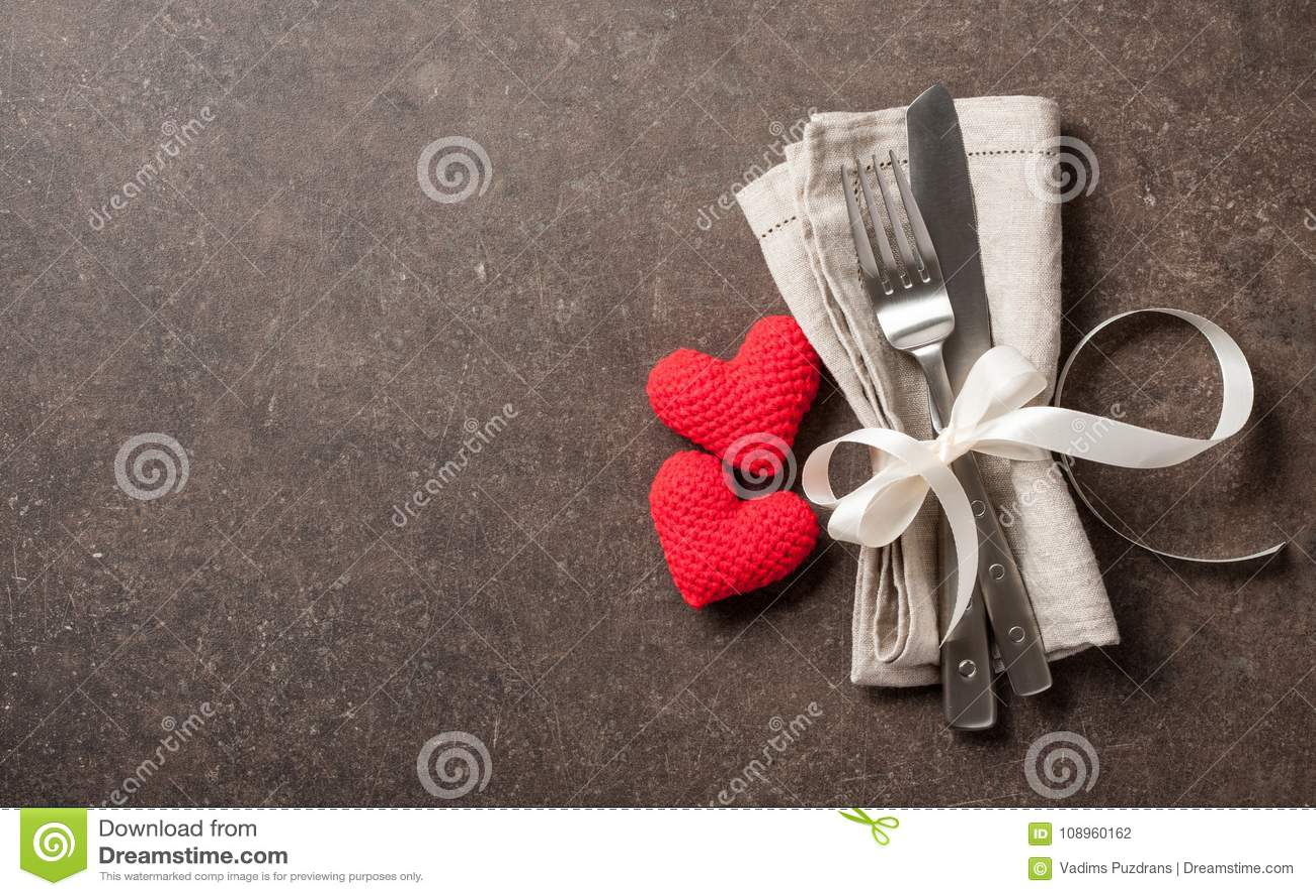 De lijst van de valentijnskaartendag het plaatsen