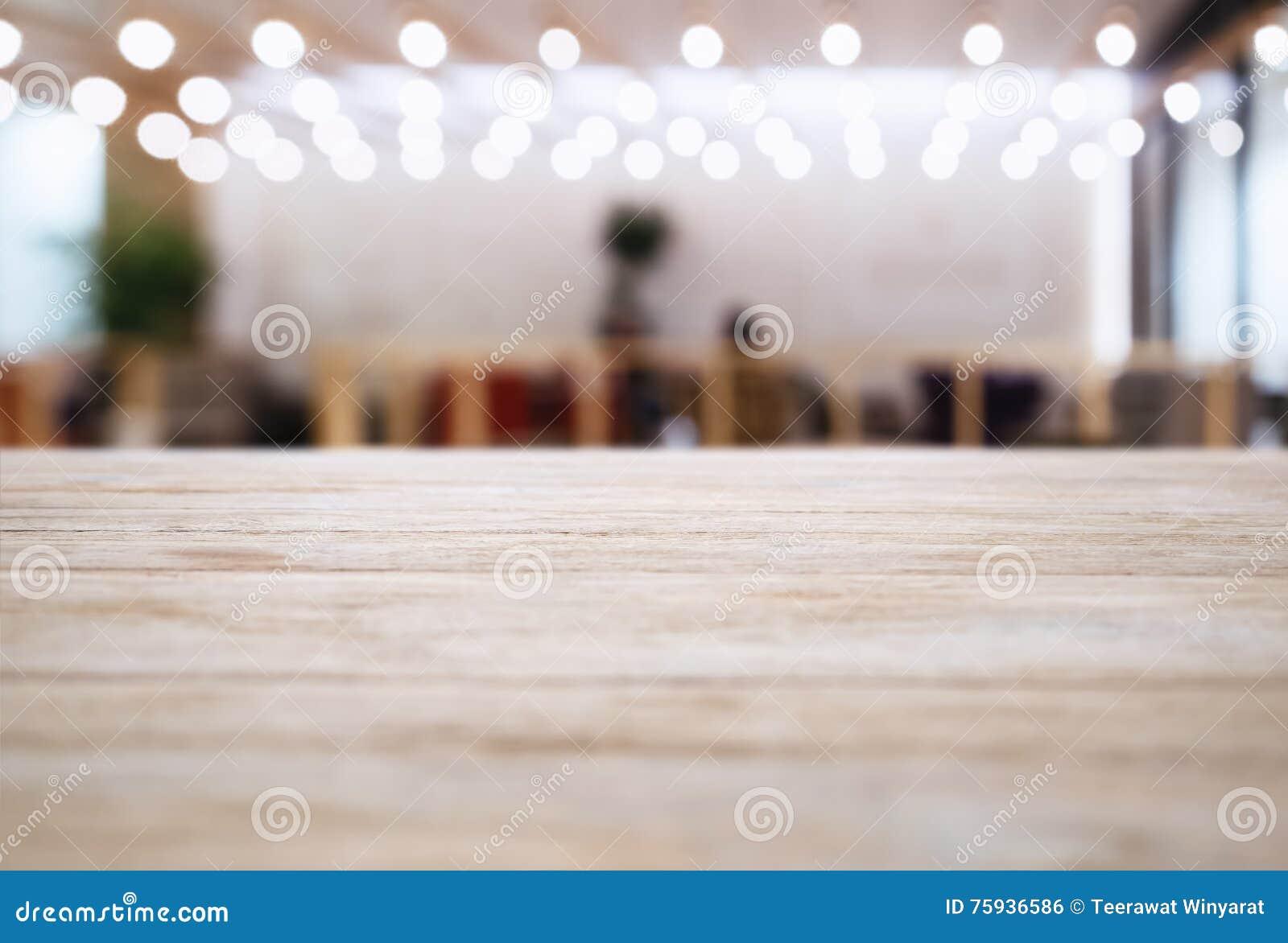 De lijstbovenkant vertroebelde de decoratie van de de Koffie binnenlandse Verlichting van het Barrestaurant