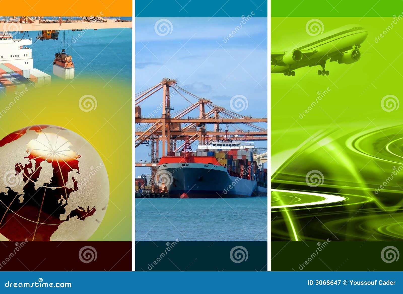 De Logistiek van de vracht