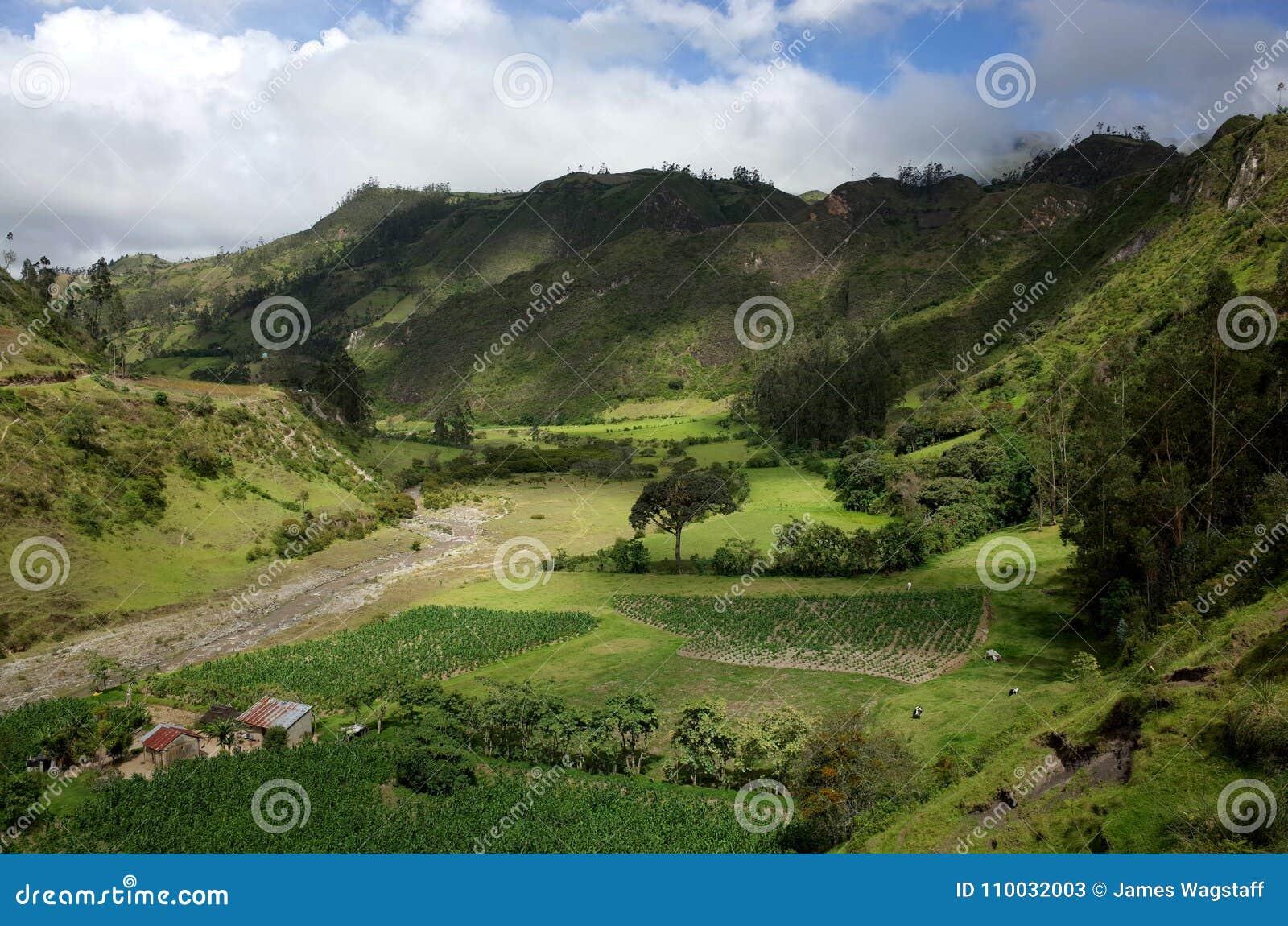 De looppas van Riviertoachi door de Ecuatoriaanse Andes