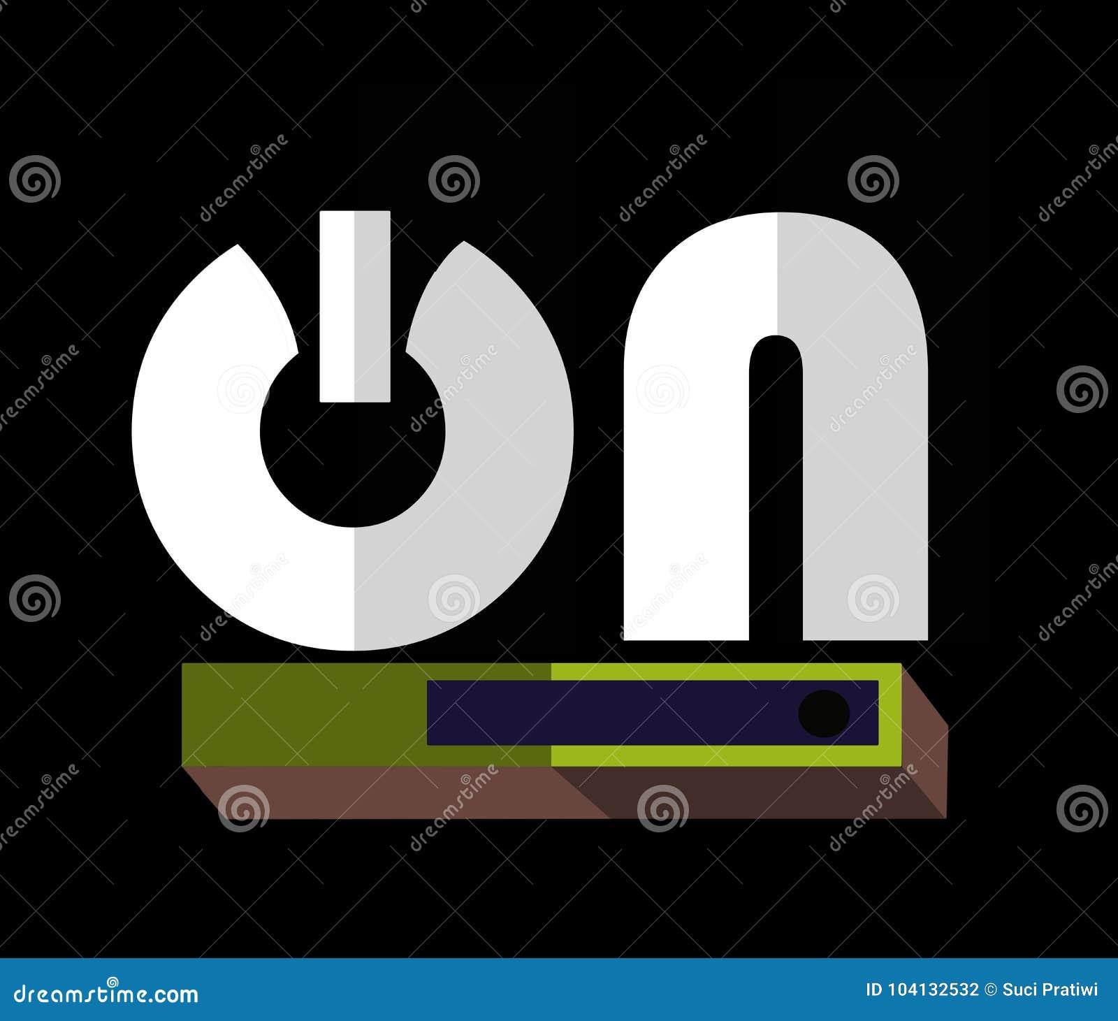 ` De los símbolos EN ` - icono de la letra o del texto