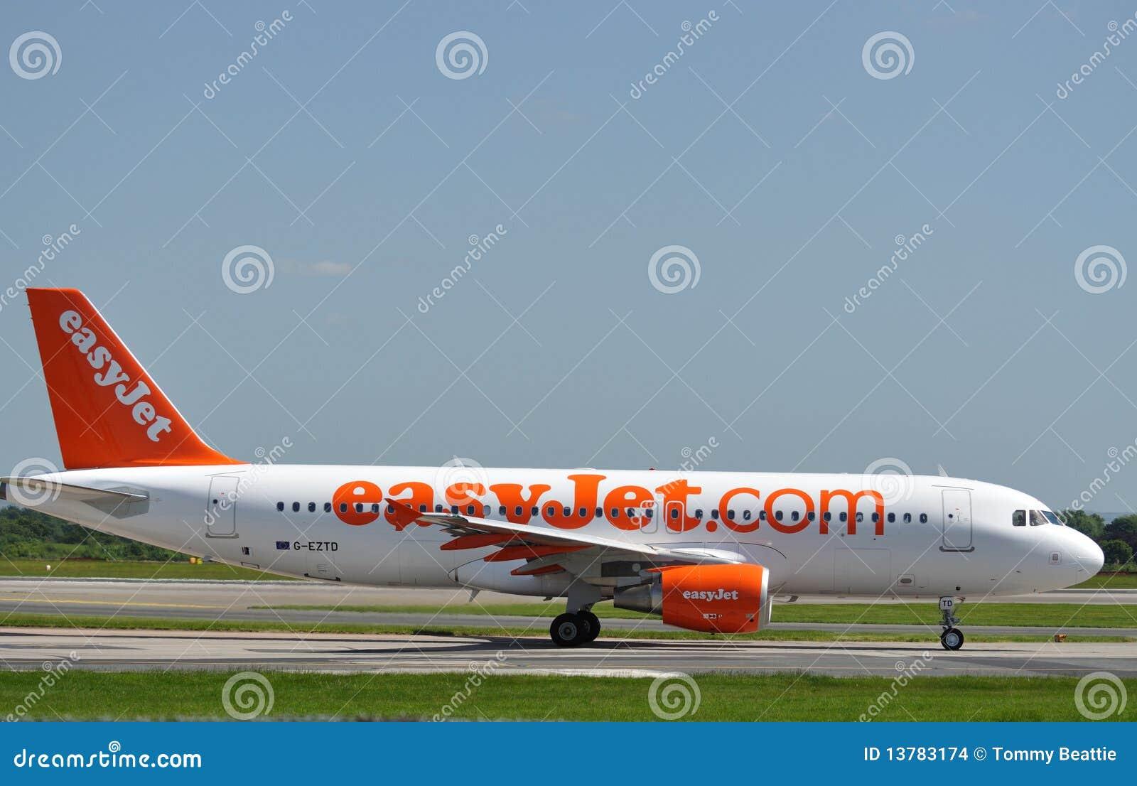 De Luchtbus van Easyjet A320