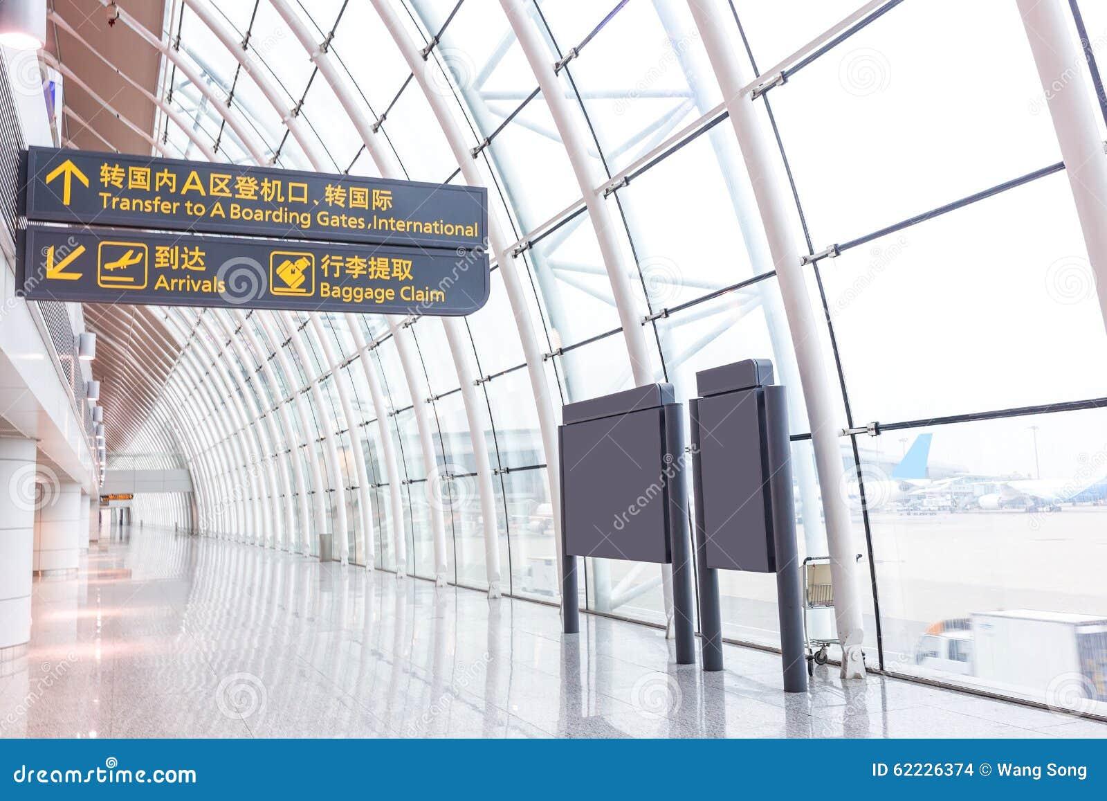 De luchthaven eindbouw
