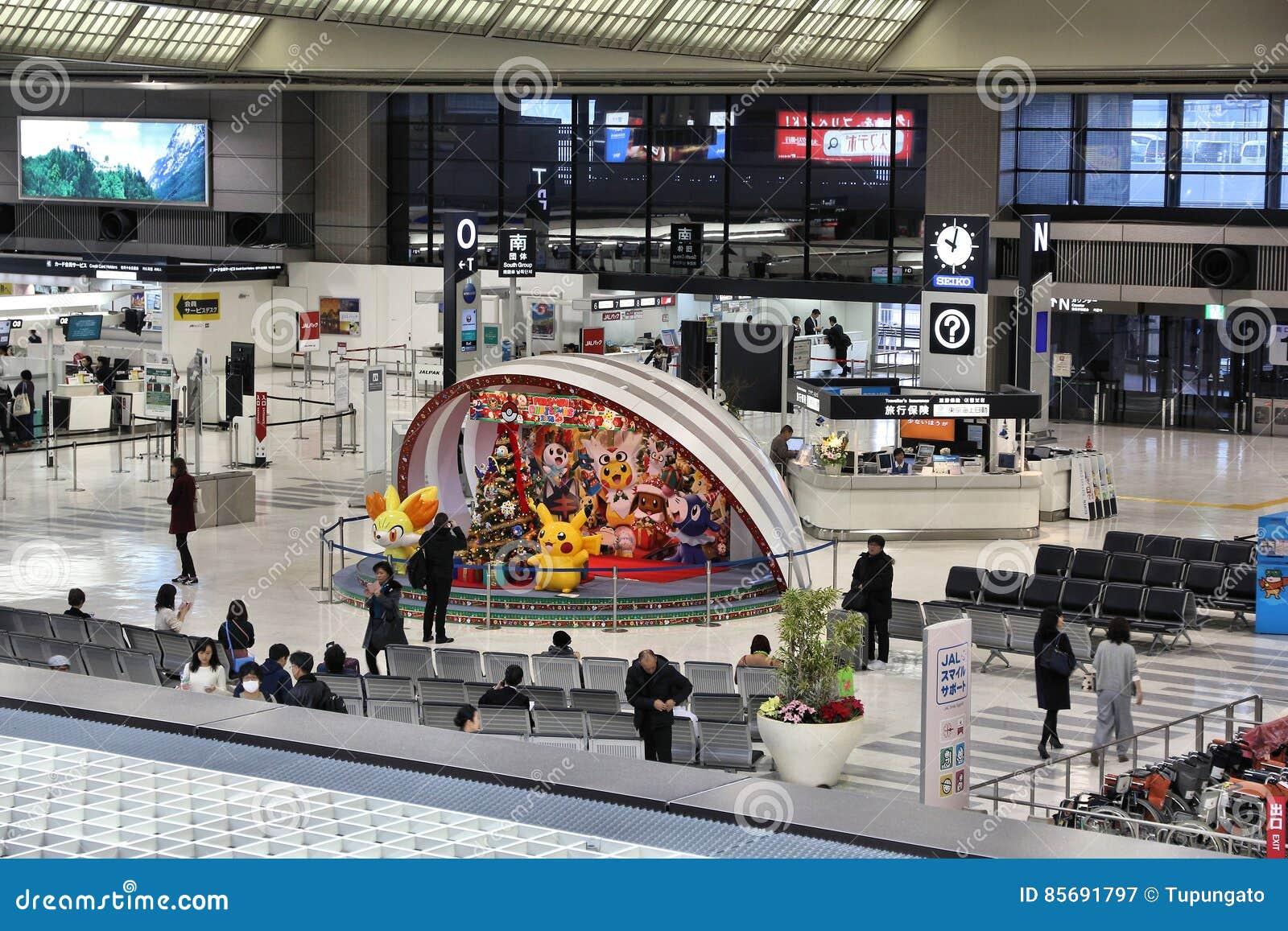 De Luchthaven van Tokyo