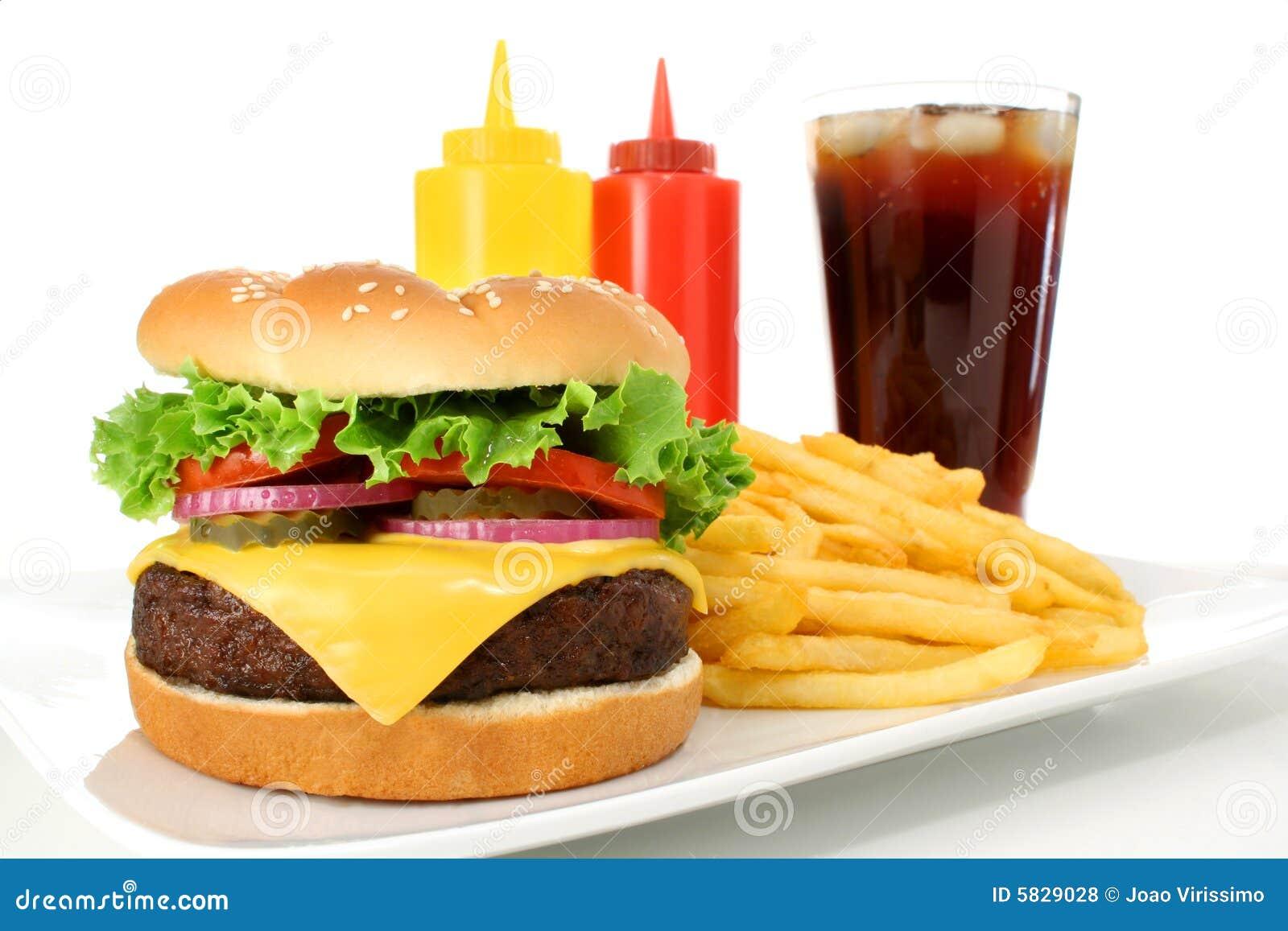 De Maaltijd van het snelle Voedsel