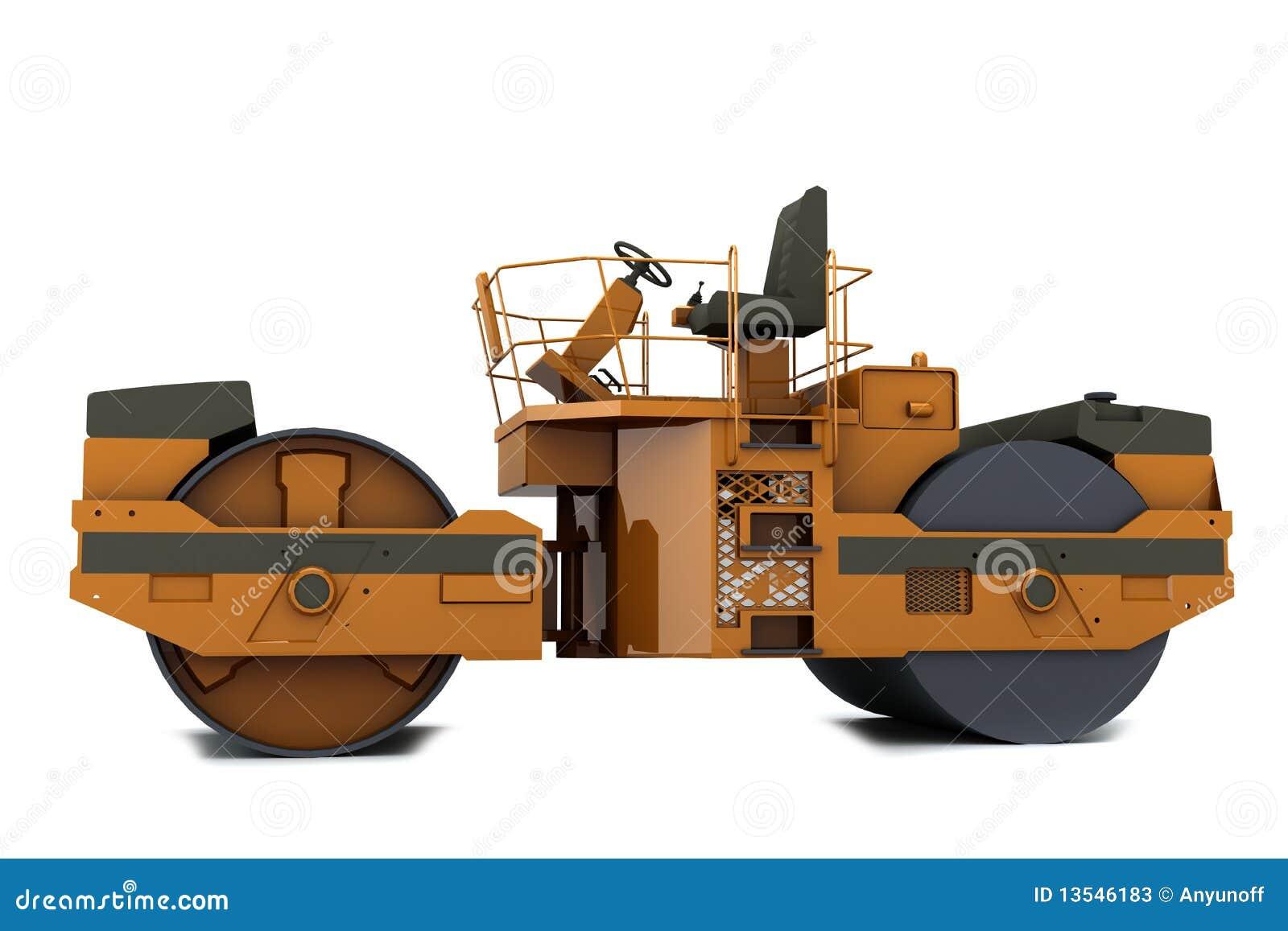 De machine van de betonmolen