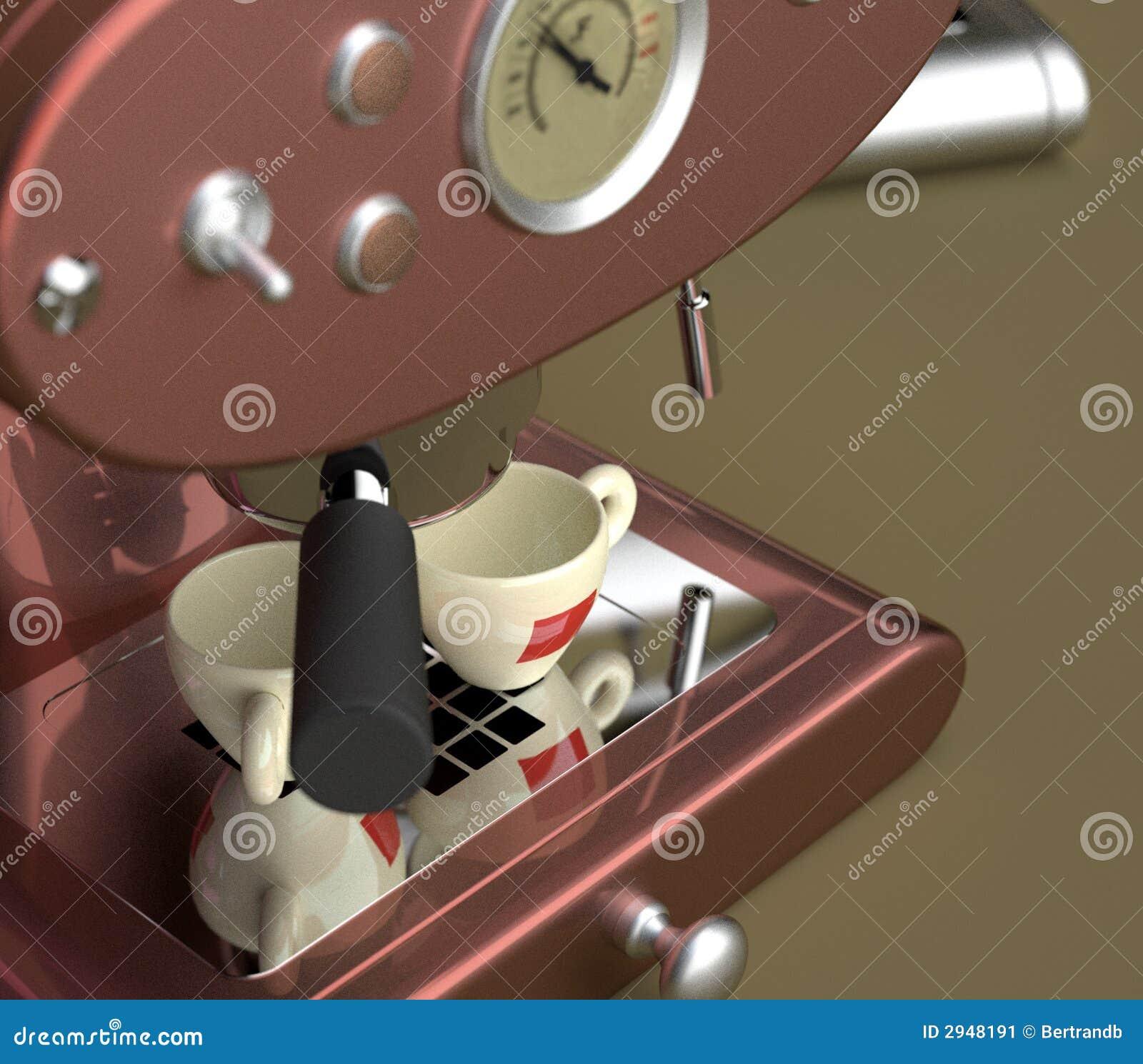 De Machine van de espresso
